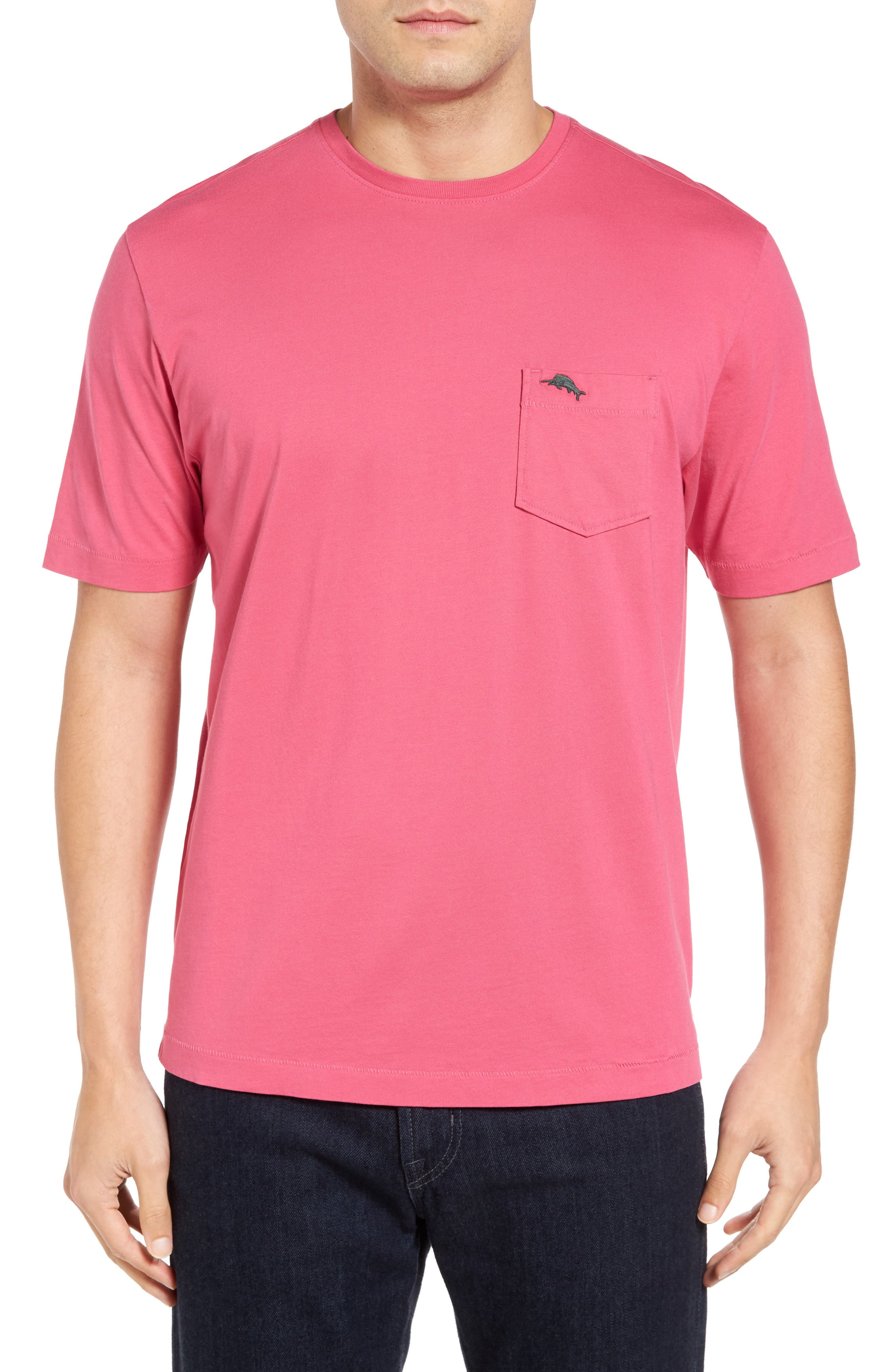 New Bali Sky Pima Cotton Pocket T-Shirt,                             Main thumbnail 54, color,