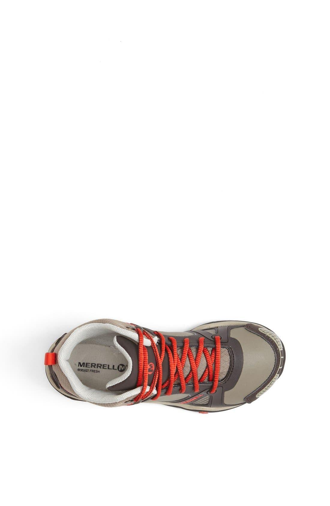 MERRELL,                             'Proterra' Mid High Waterproof Sneaker,                             Alternate thumbnail 3, color,                             201
