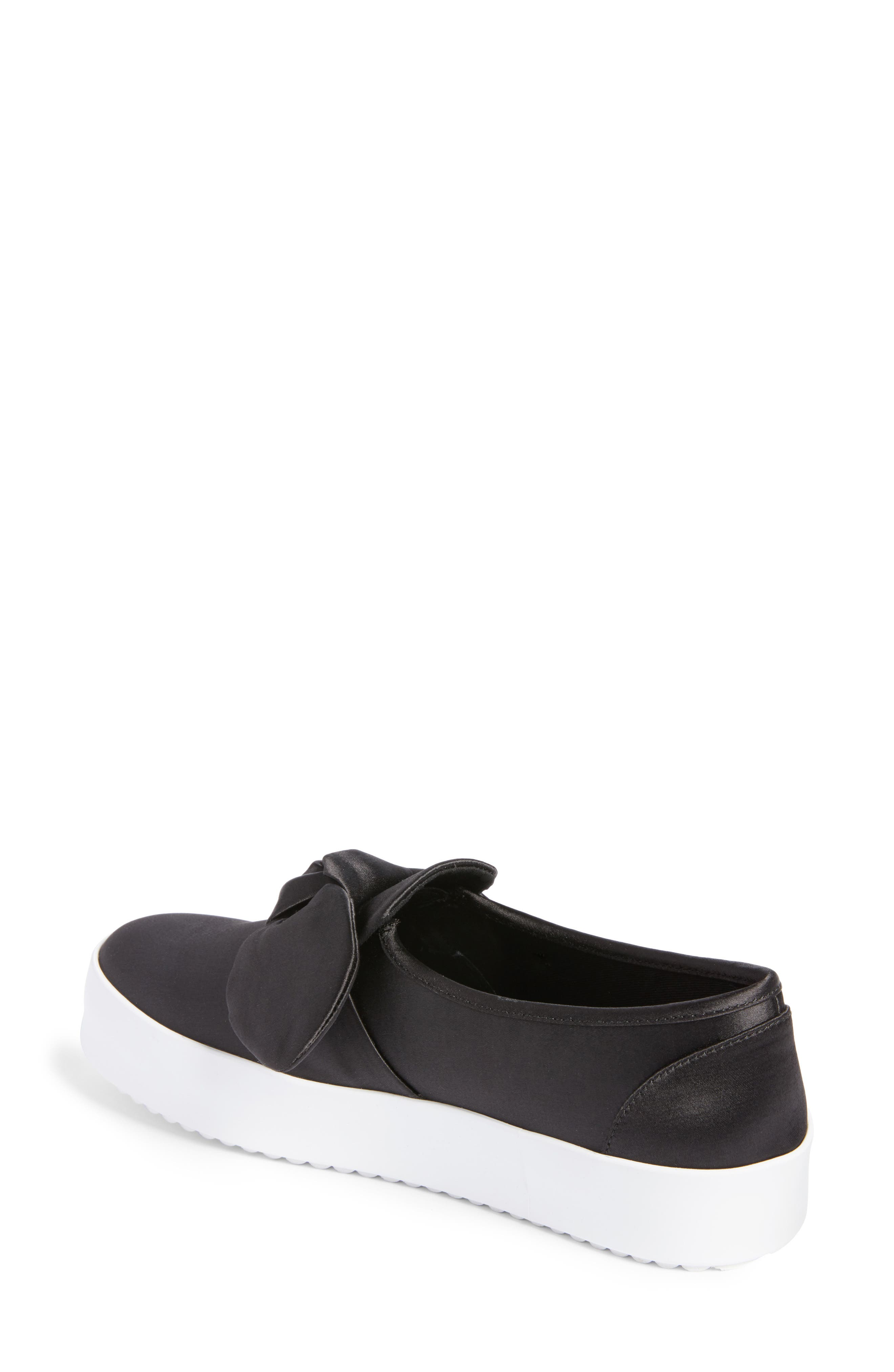 Stacey Bow Platform Sneaker,                             Alternate thumbnail 2, color,                             002