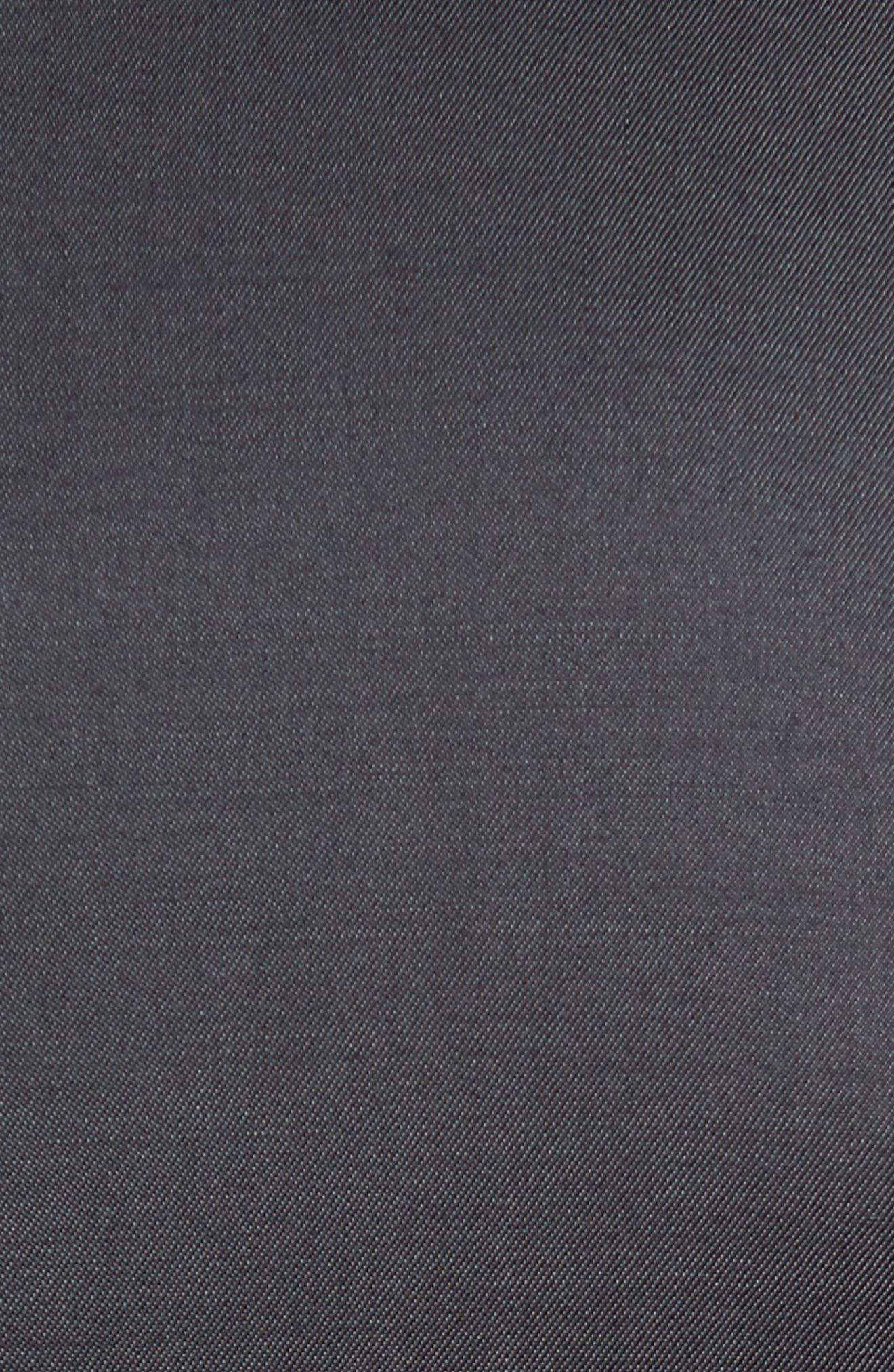 Trim Fit Solid Wool Suit,                             Alternate thumbnail 4, color,                             022