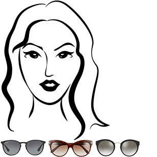 The best sunglasses for oval-shaped faces.