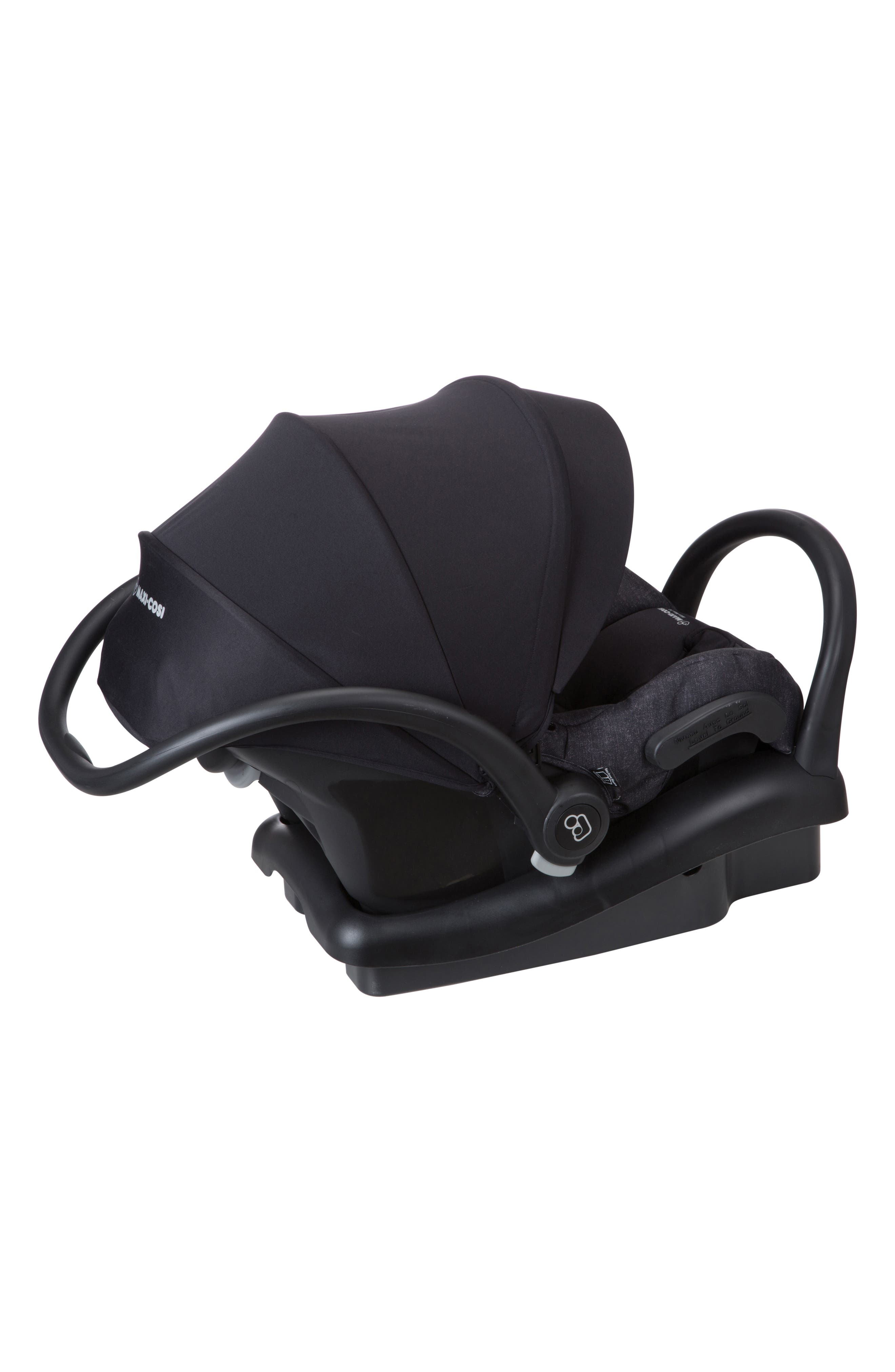 Mico Max 30 Nomad Collection Infant Car Seat,                             Alternate thumbnail 5, color,                             NOMAD BLACK