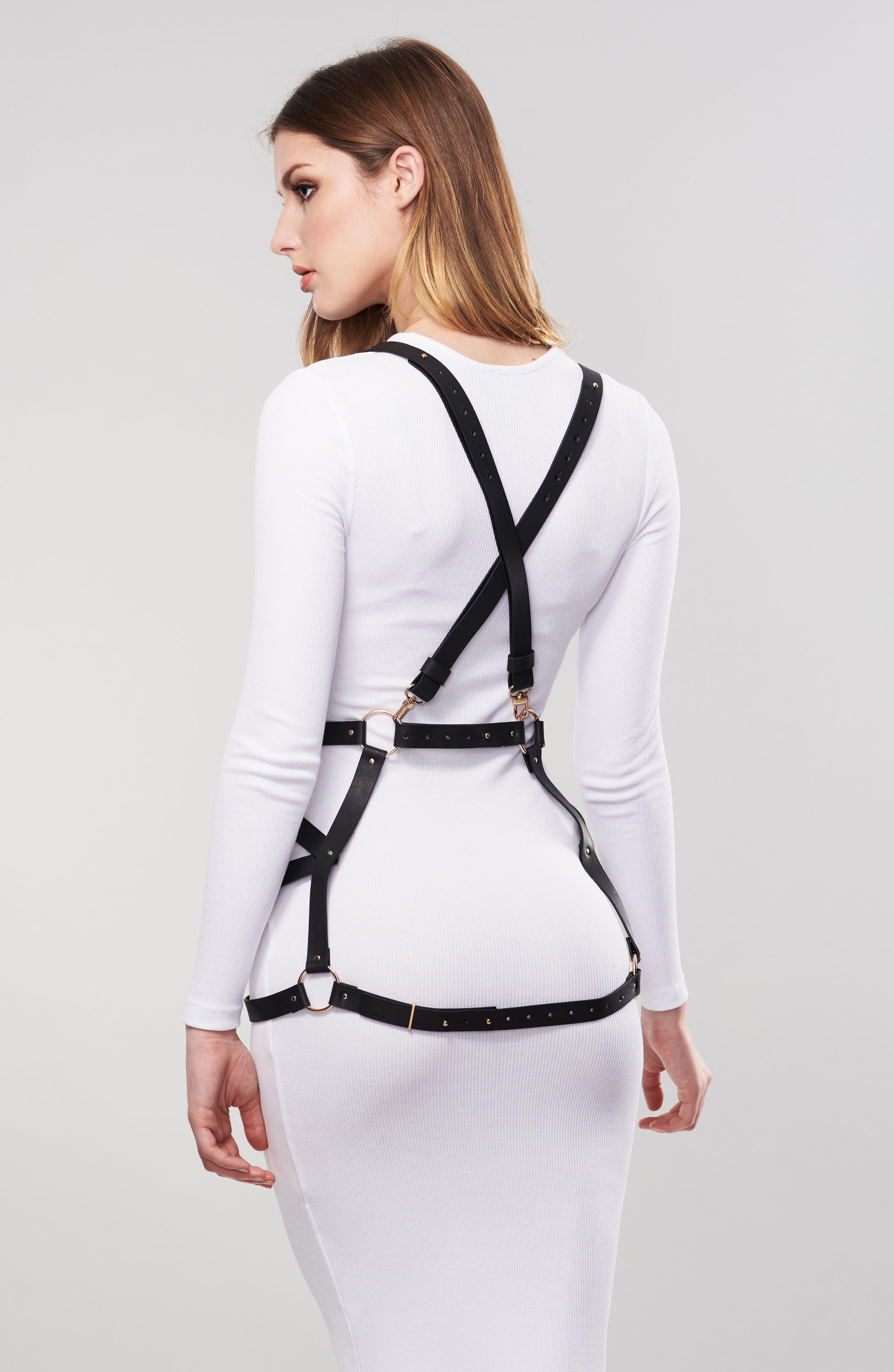 Maze Arrow Dress Harness,                             Alternate thumbnail 4, color,                             001