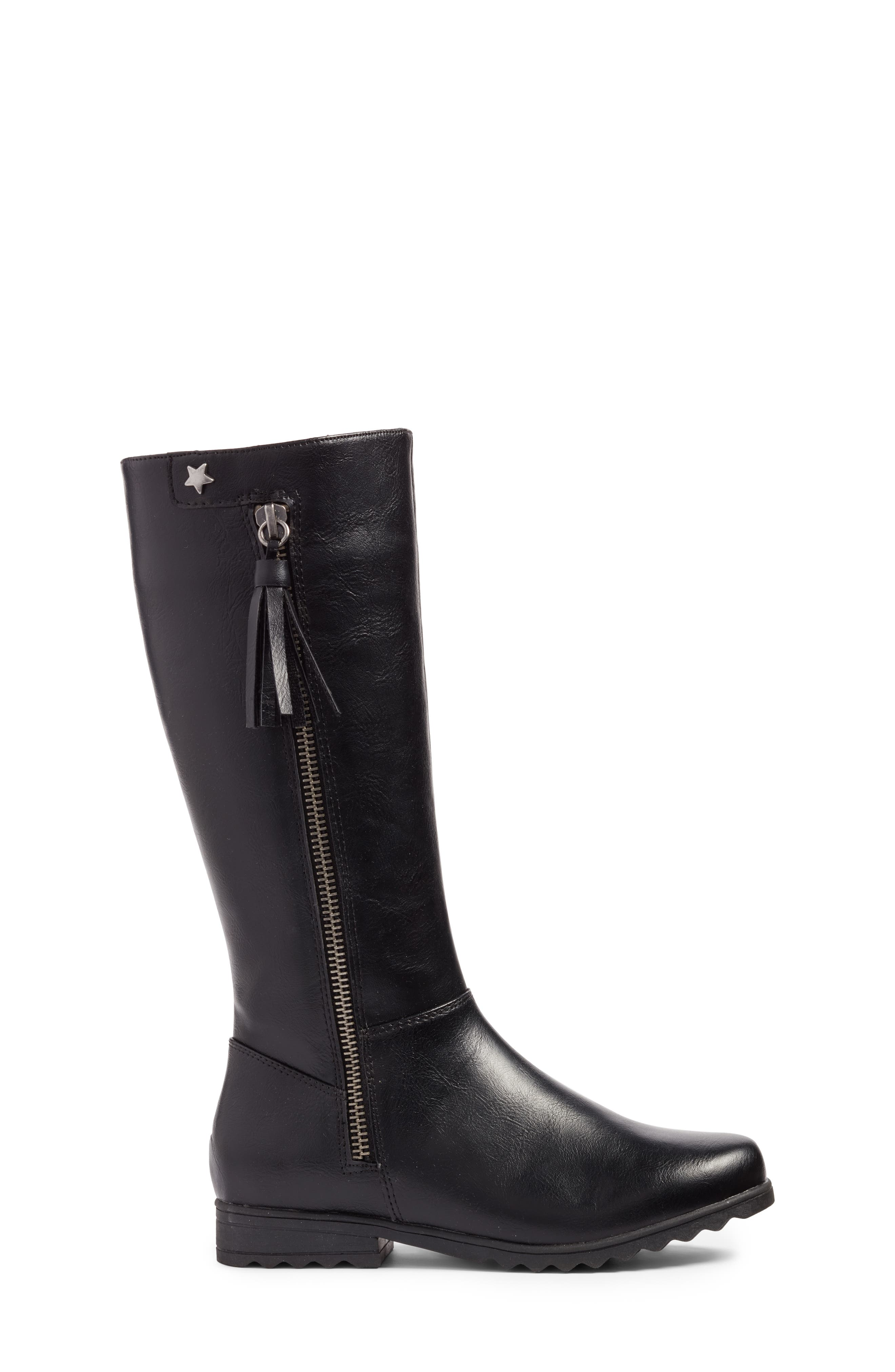 Kelsie Tassel Boot,                             Alternate thumbnail 3, color,                             001