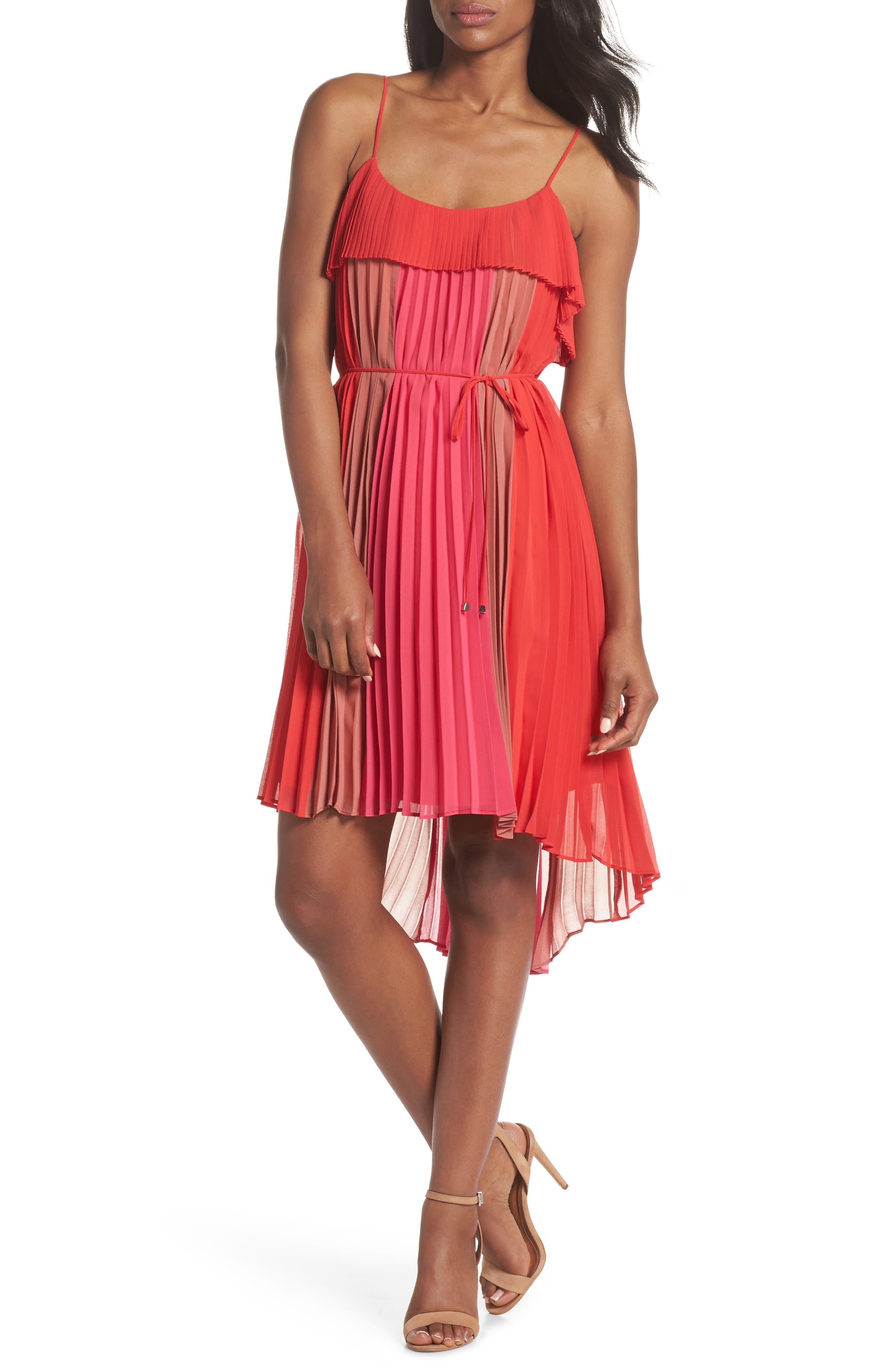 Pepper Pleated Dress,                             Alternate thumbnail 5, color,                             600