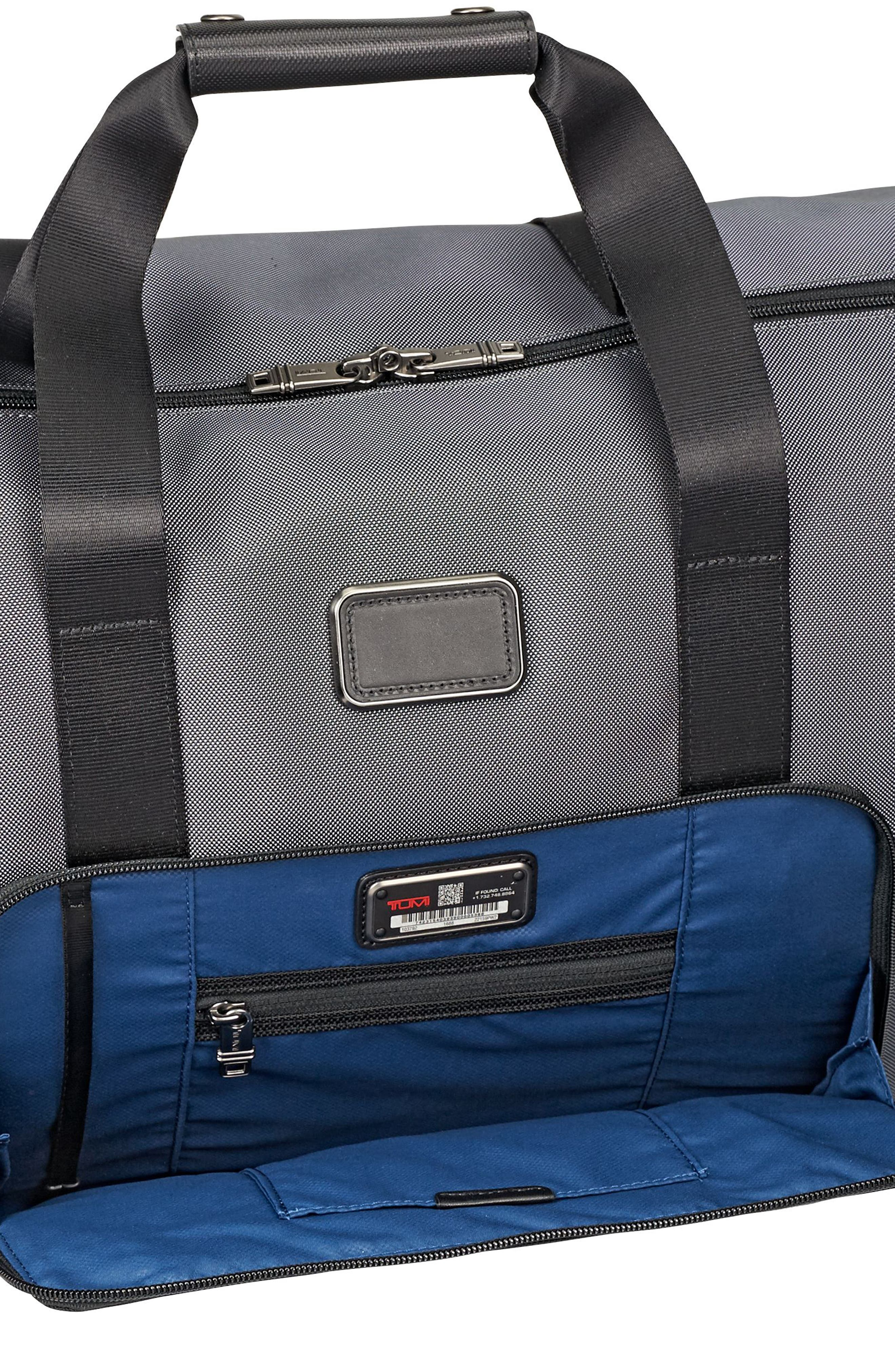 Alpha 2 - Travel Satchel,                             Alternate thumbnail 5, color,                             PEWTER