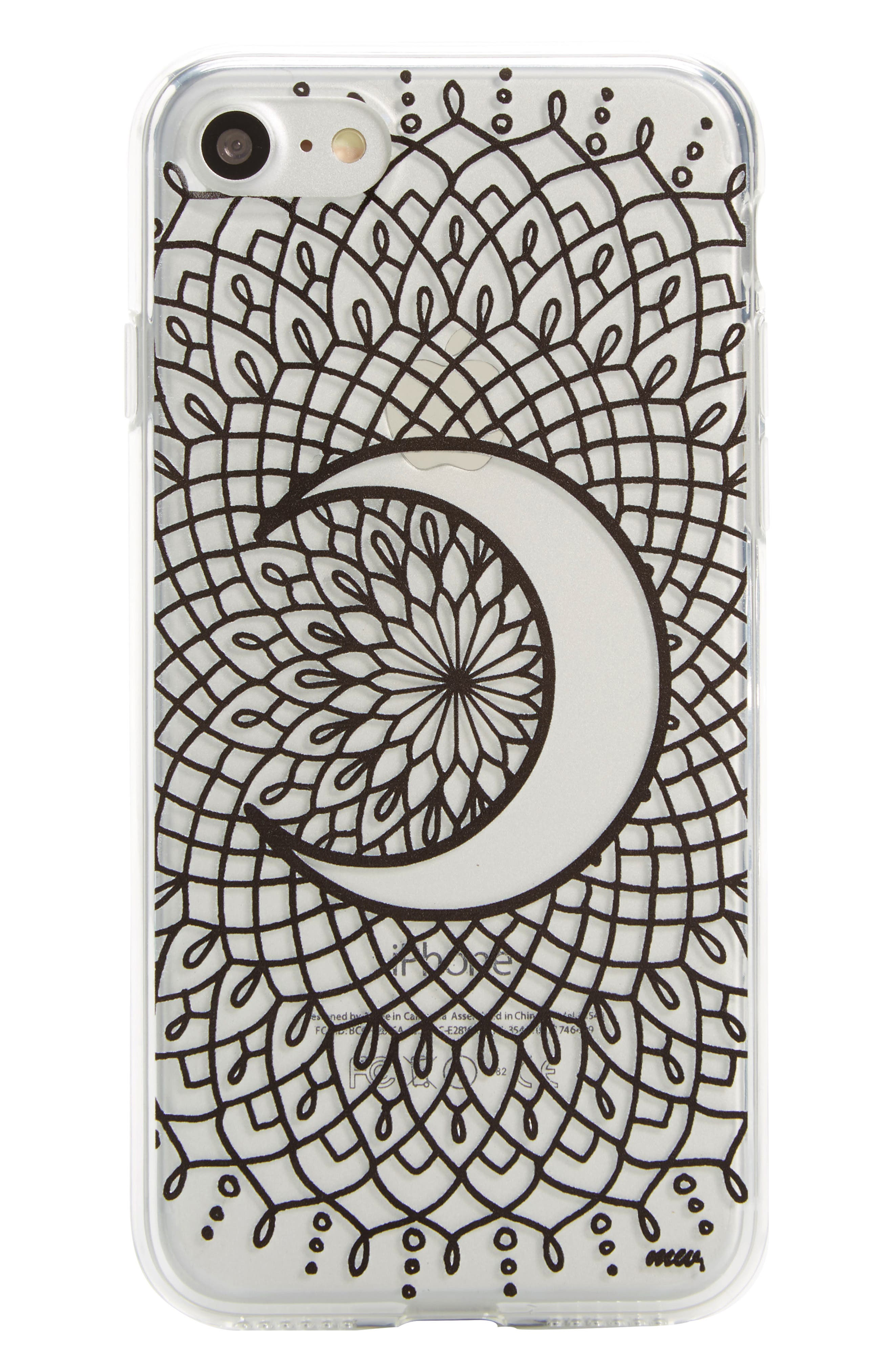 Crescent Moon iPhone 7 Case,                         Main,                         color, 001