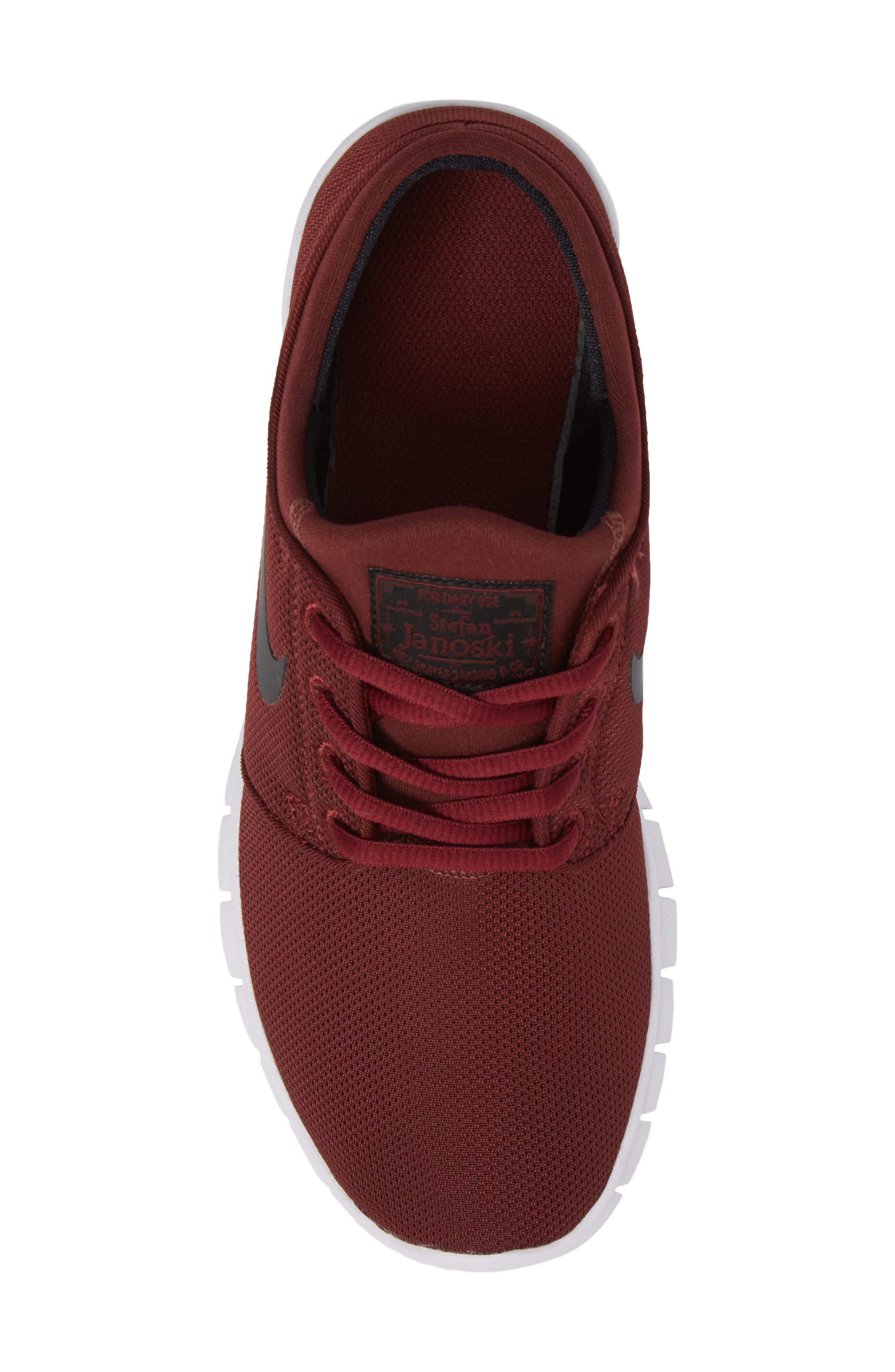 Stefan Janoski Max SB Skate Sneaker,                             Alternate thumbnail 45, color,