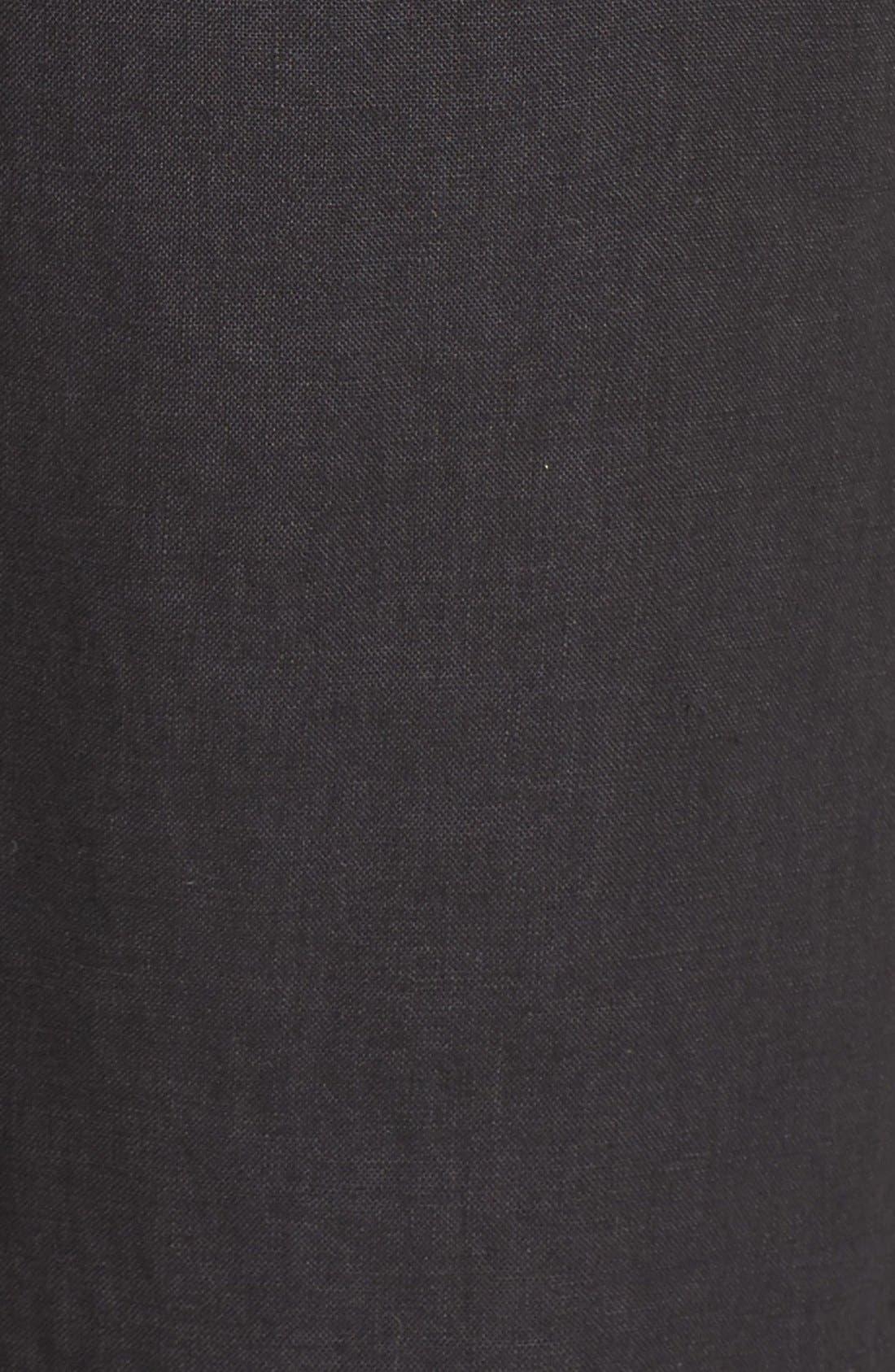 Linen Jogger Pants,                             Alternate thumbnail 5, color,                             001