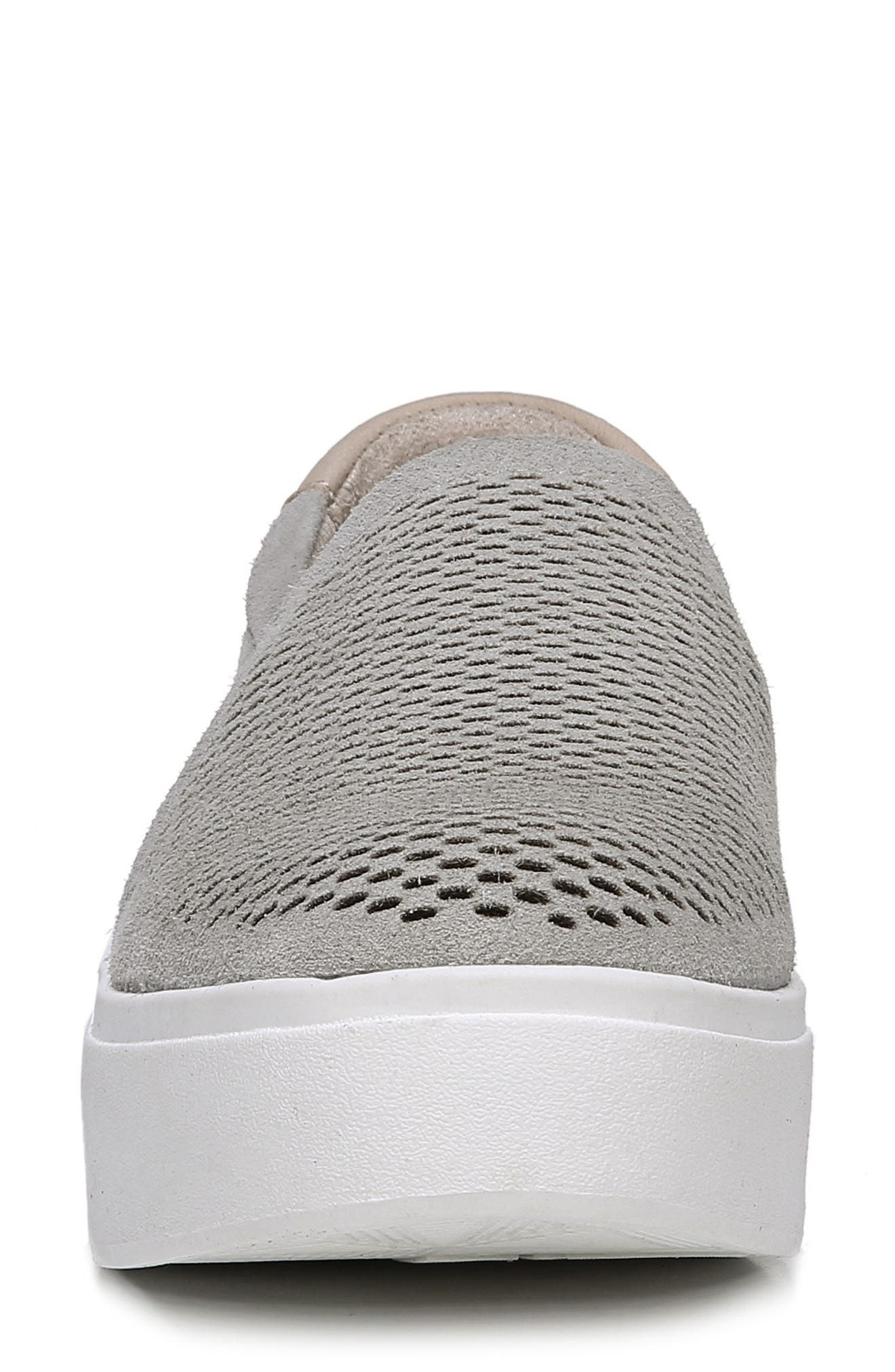 Abbot Lux Sneaker,                             Alternate thumbnail 4, color,                             GREY LEATHER