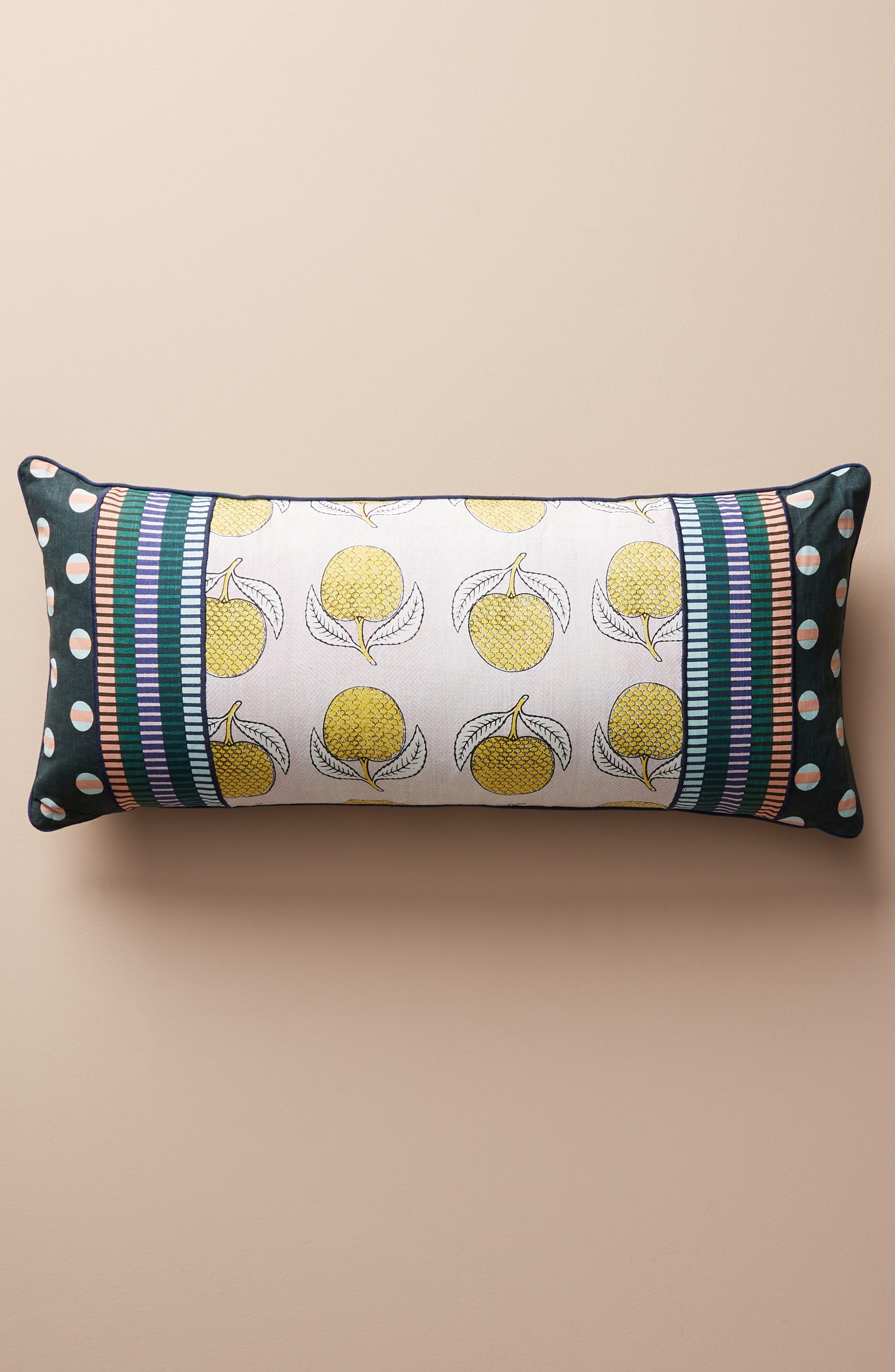 anthropologie x suno lumbar accent pillow