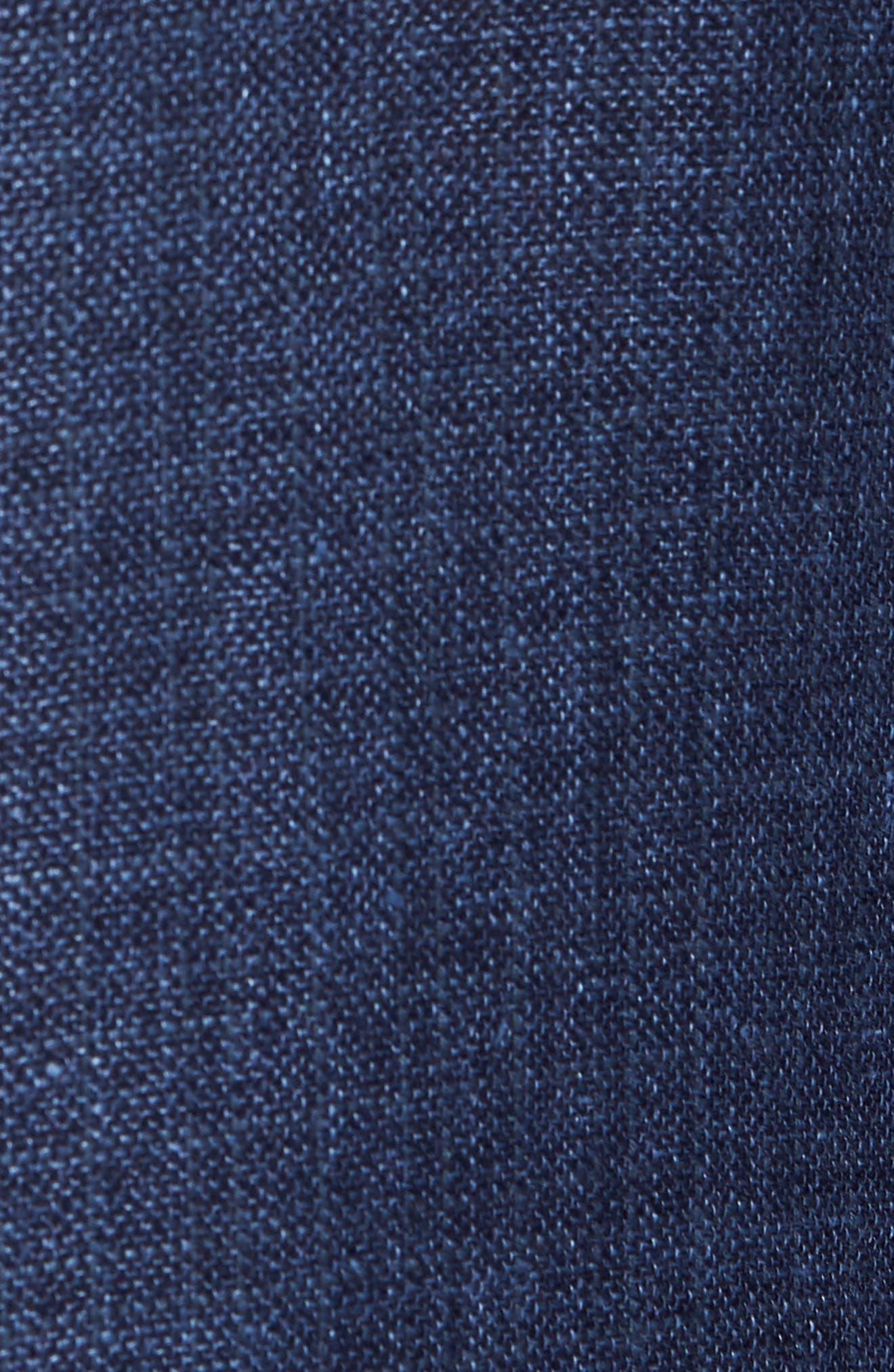 Trent Trim Fit Wool & Linen Blazer,                             Alternate thumbnail 6, color,                             410