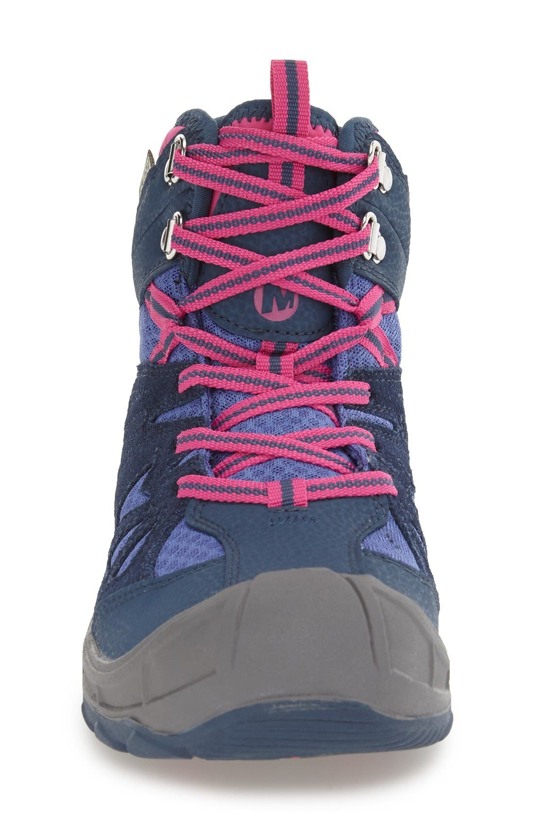 'Capra' Mid Waterproof Hiking Shoe,                             Alternate thumbnail 6, color,