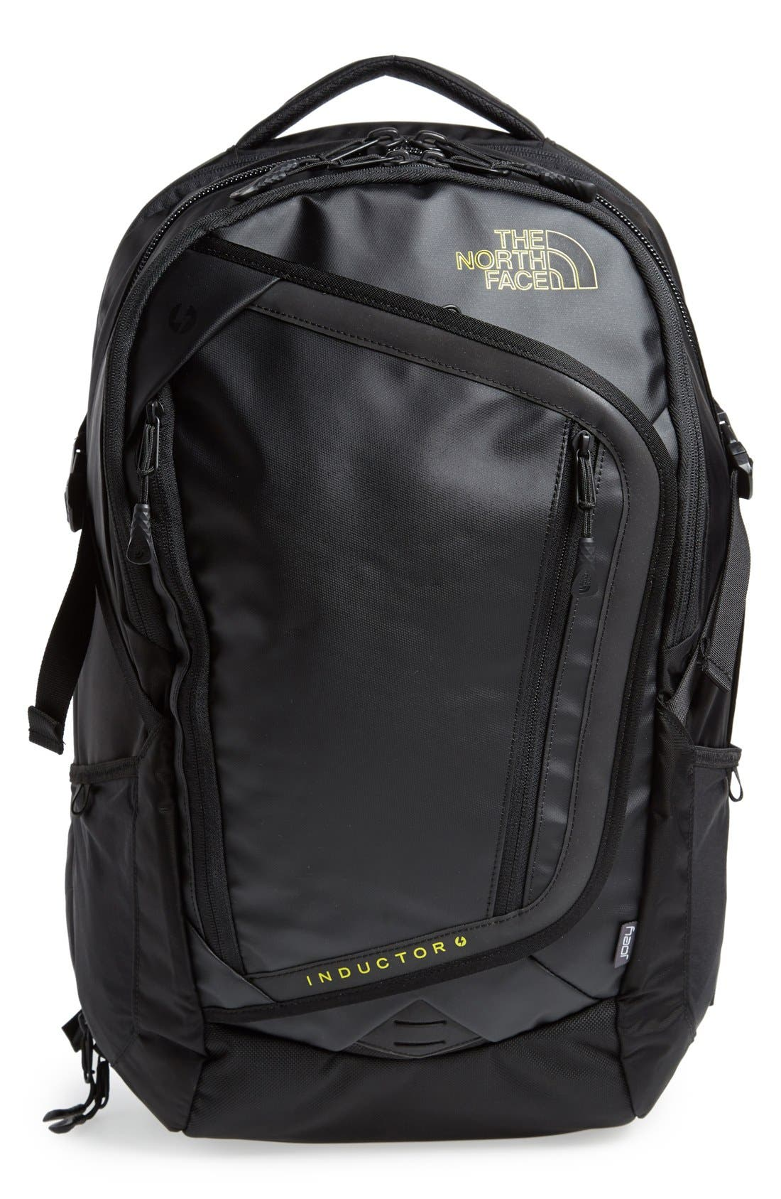 'Inductor Charged' Backpack, Main, color, 001