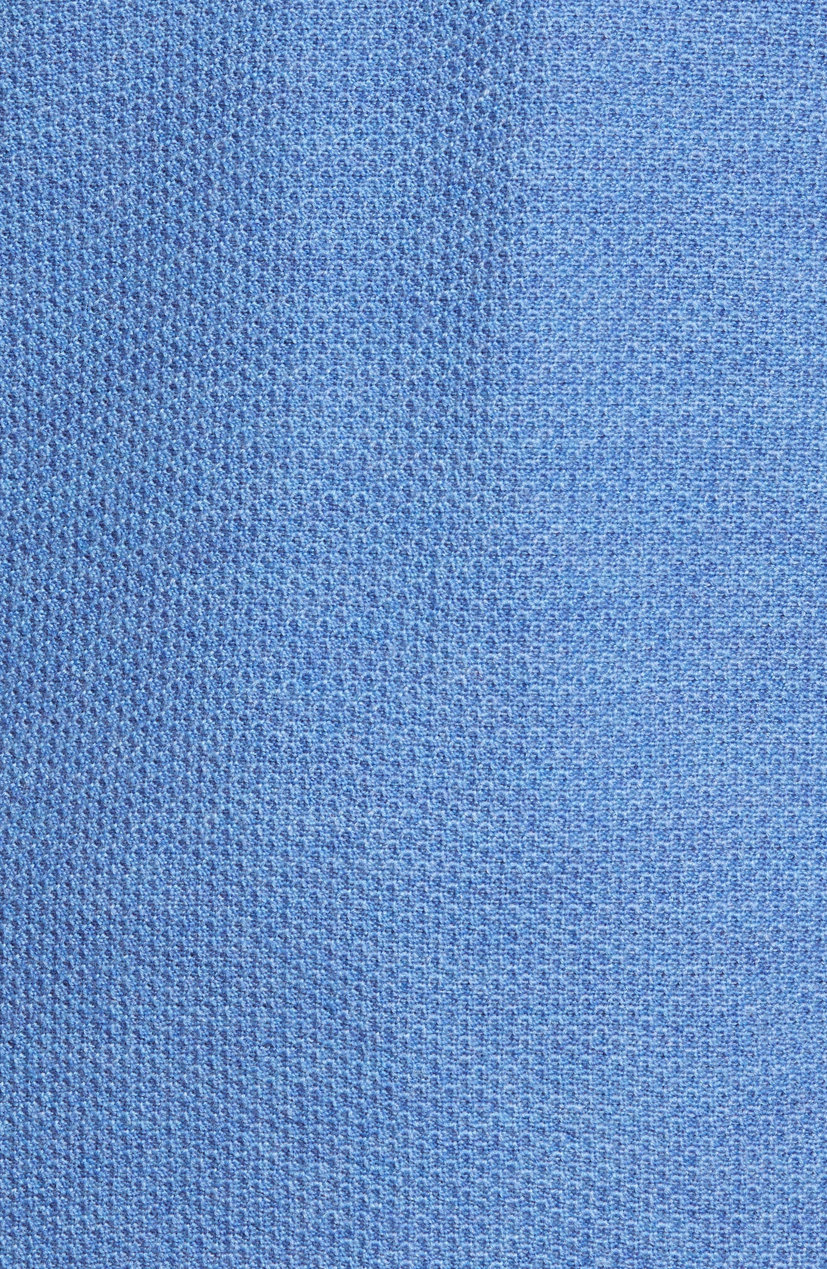 Honeycomb Merino Wool Quarter Zip Pullover,                             Alternate thumbnail 14, color,