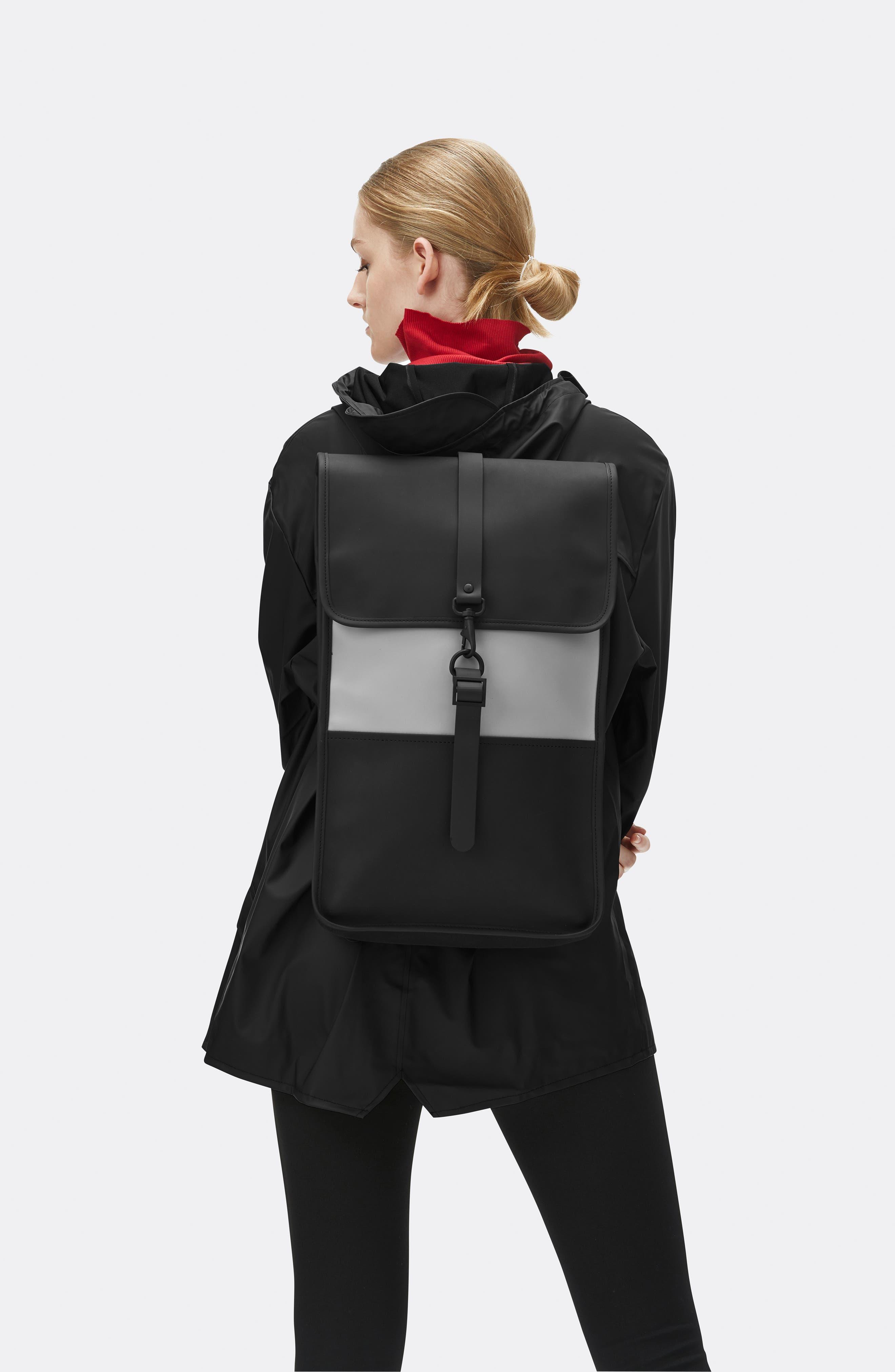 Waterproof Backpack,                             Alternate thumbnail 2, color,                             BLACK/ STONE