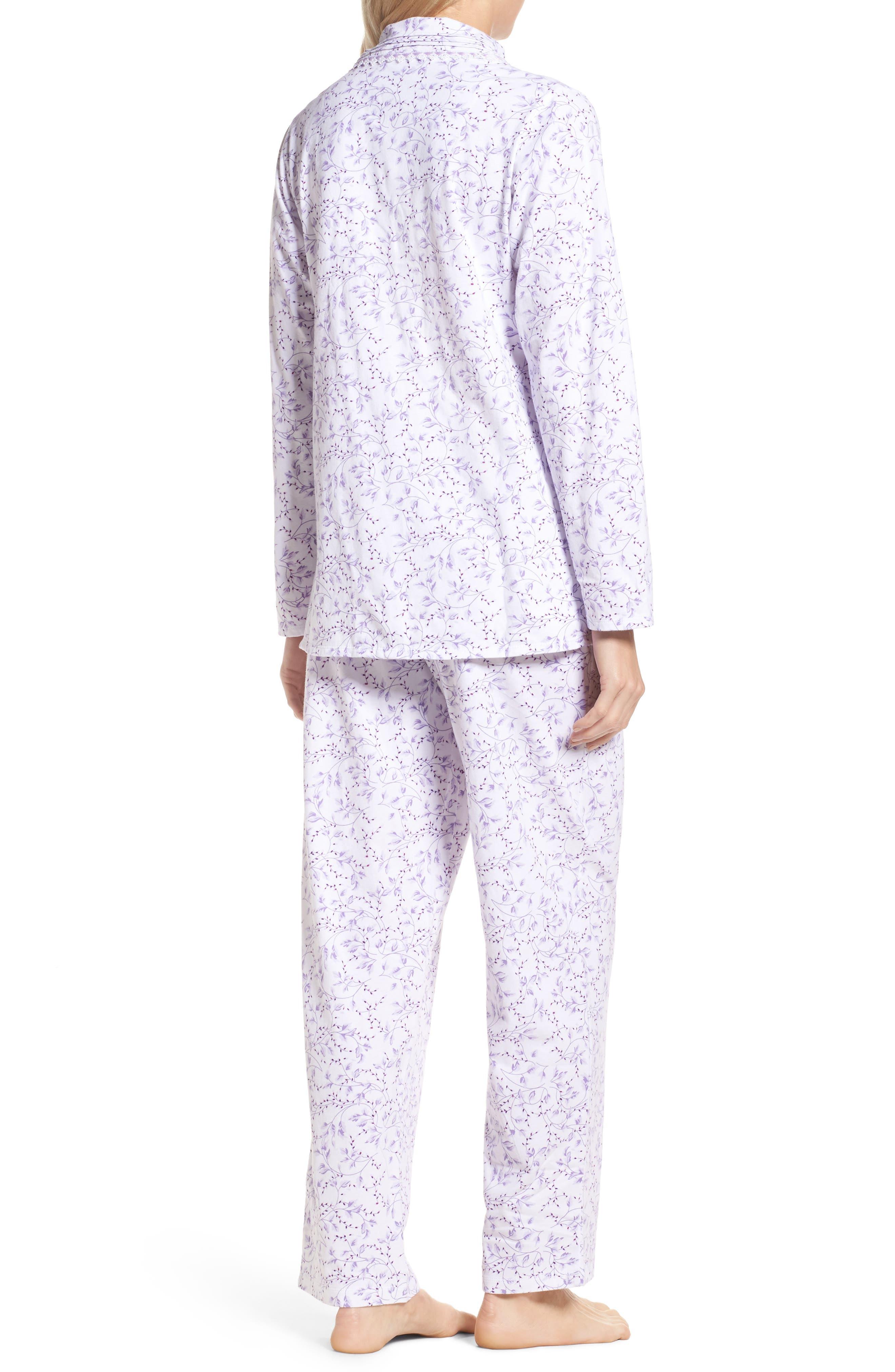 Notch Collar Pajamas,                             Alternate thumbnail 2, color,                             110