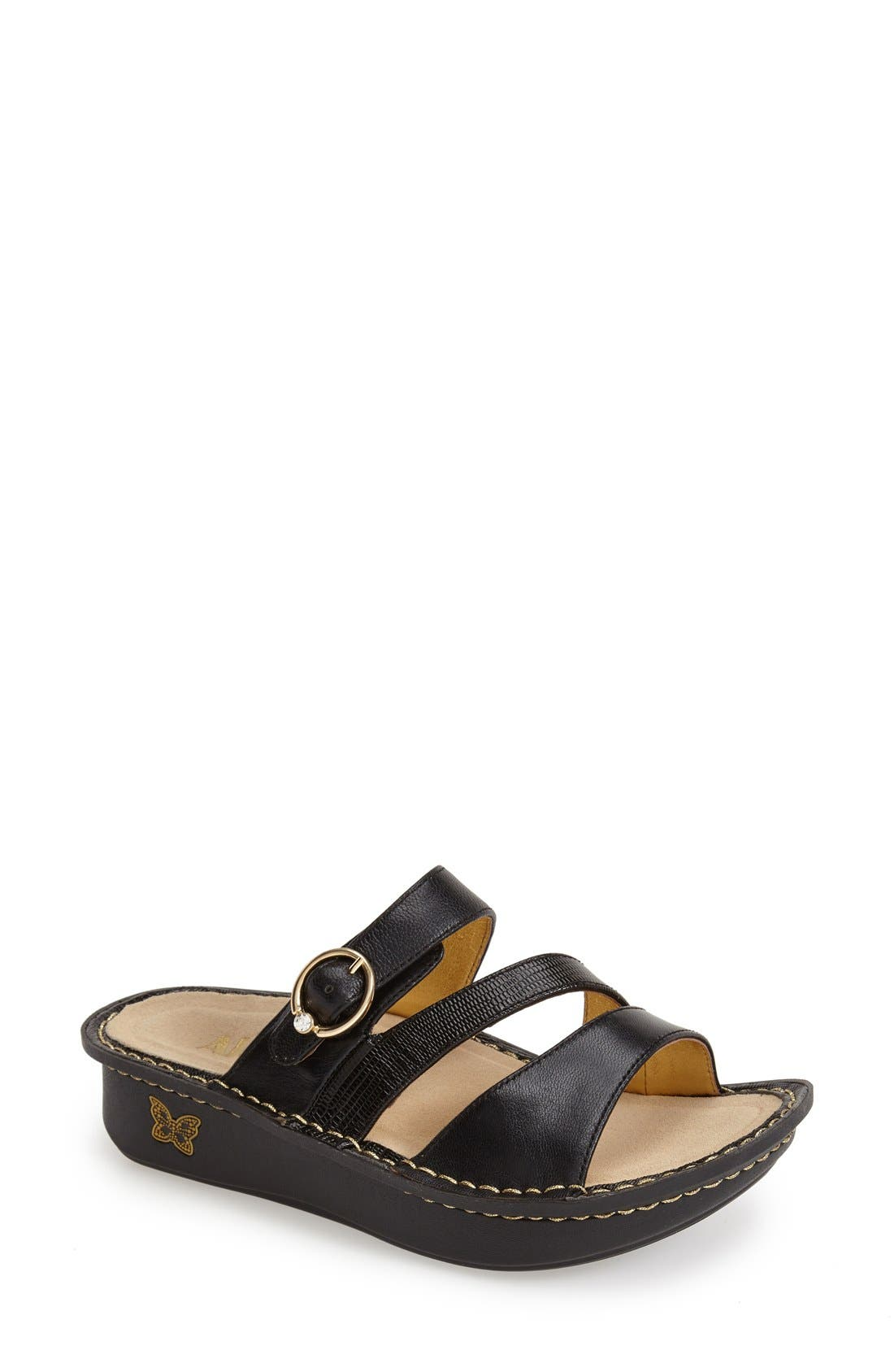 'Colette' Platform Sandal,                             Main thumbnail 6, color,