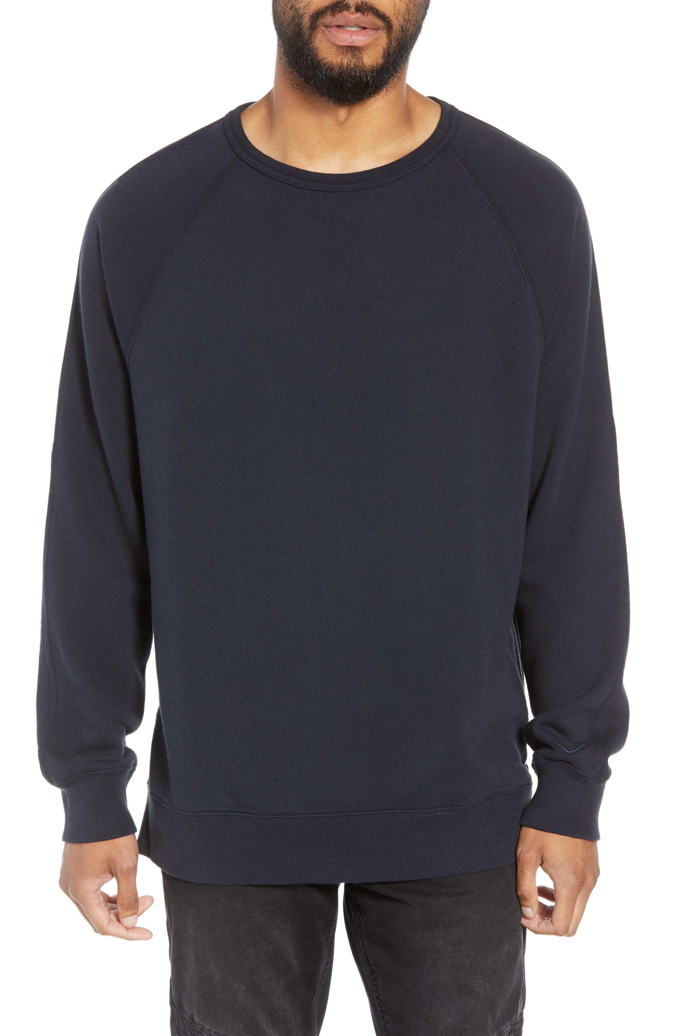 Regular Fit Crewneck Pullover,                         Main,                         color, NAVY