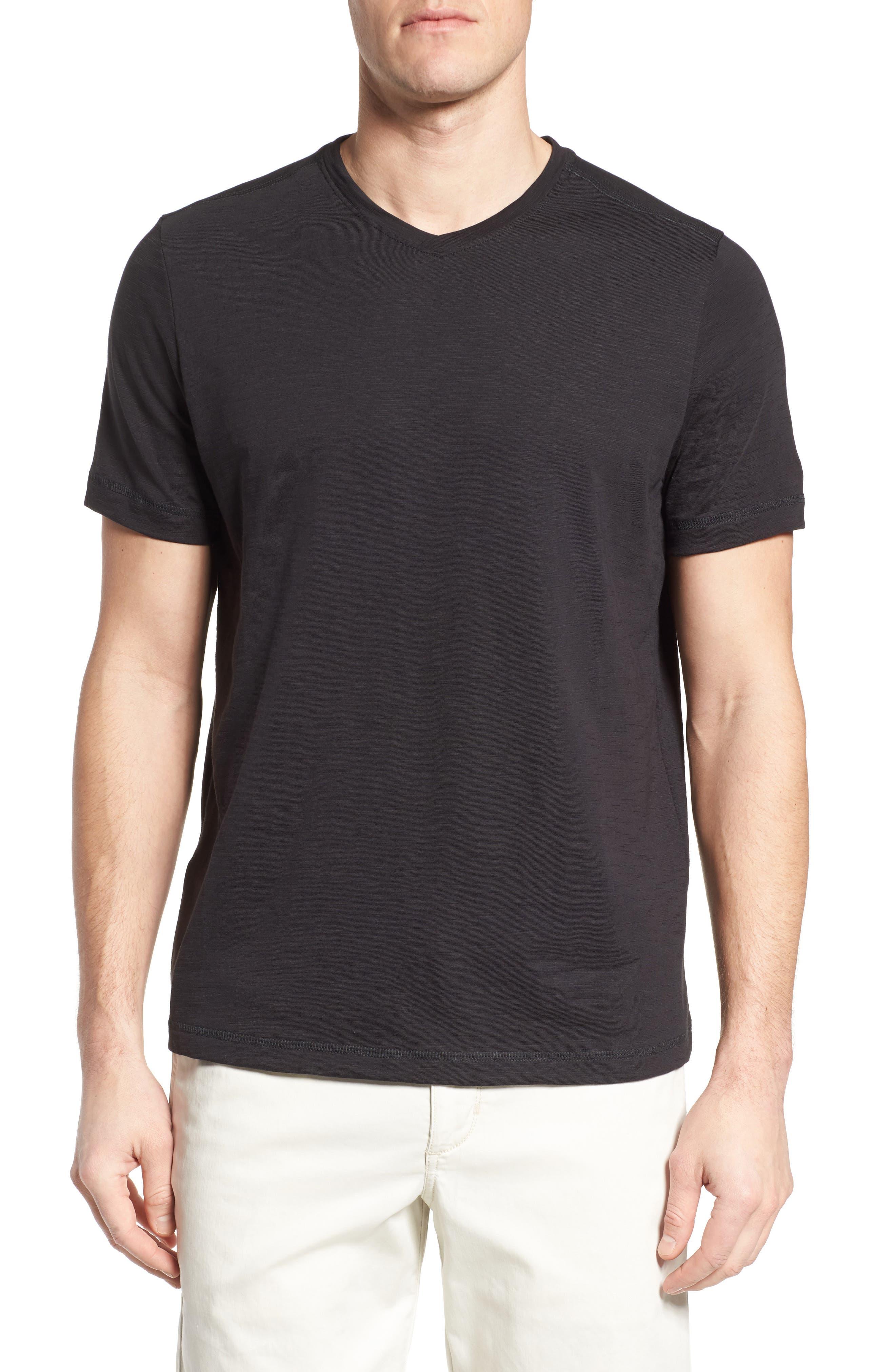Portside Palms V-Neck T-Shirt,                             Main thumbnail 1, color,