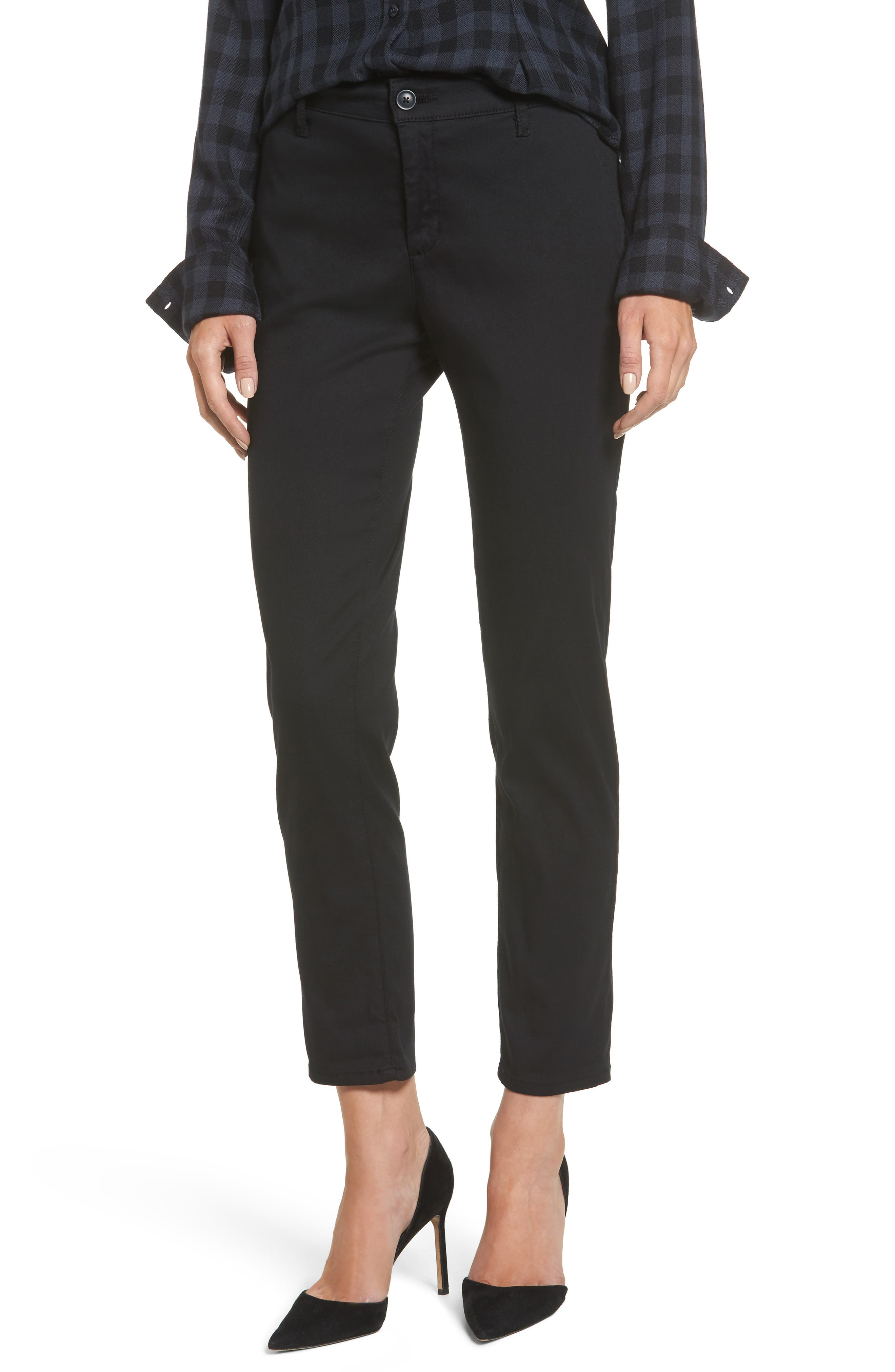The Caden Crop Slim Trousers,                             Main thumbnail 1, color,                             010