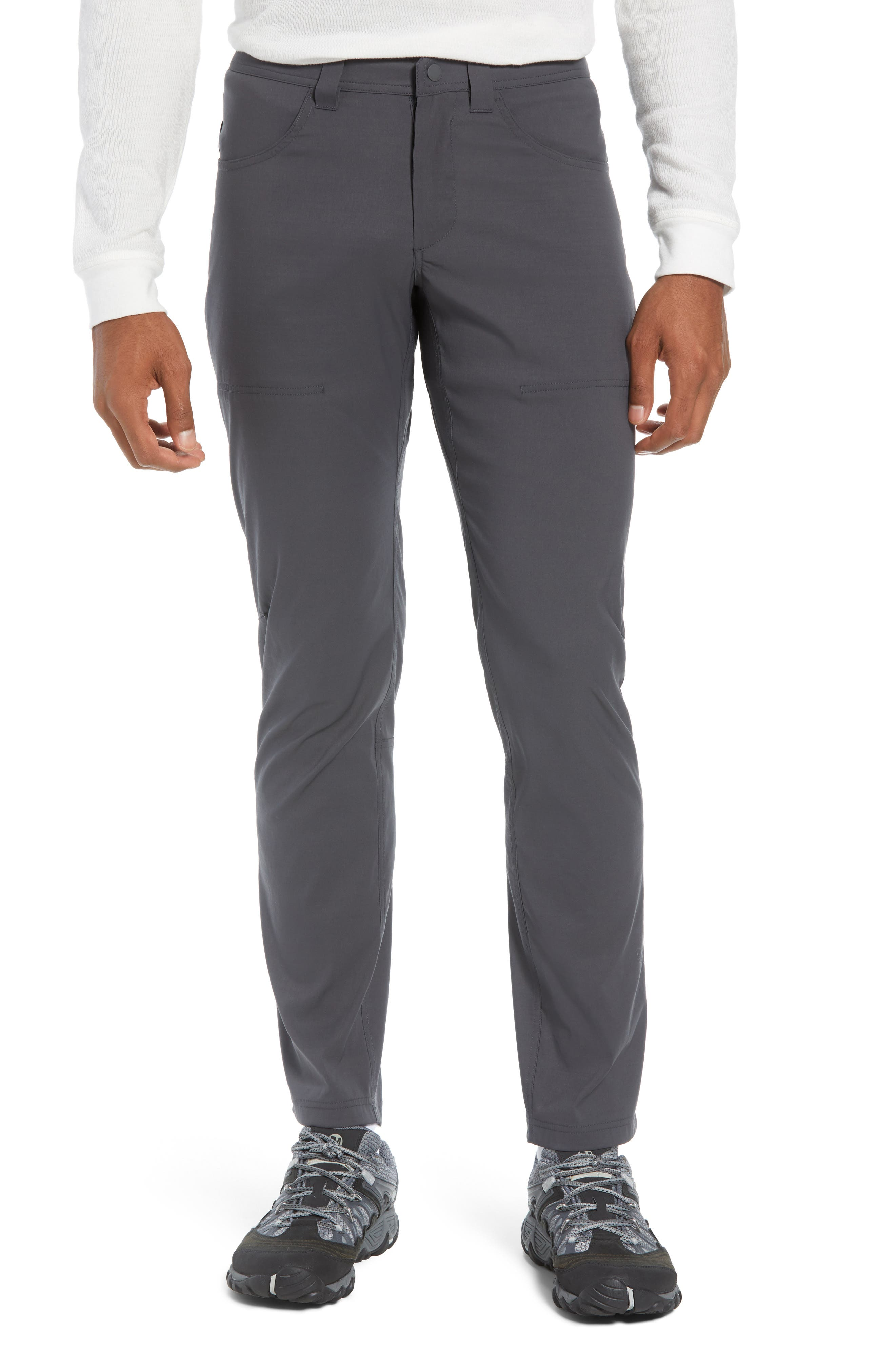 Icebreaker Persist Straight Pants, Grey
