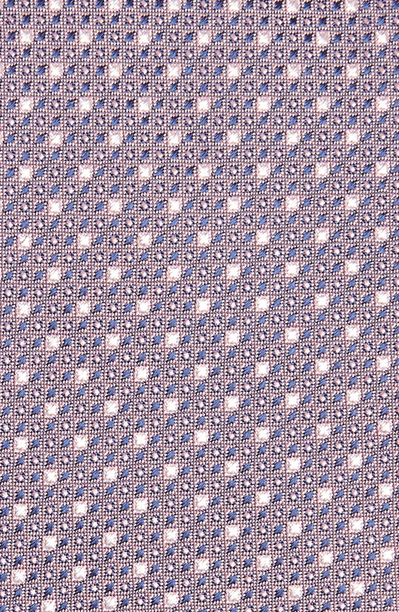 Neat Geometric Silk Tie,                             Alternate thumbnail 2, color,                             650