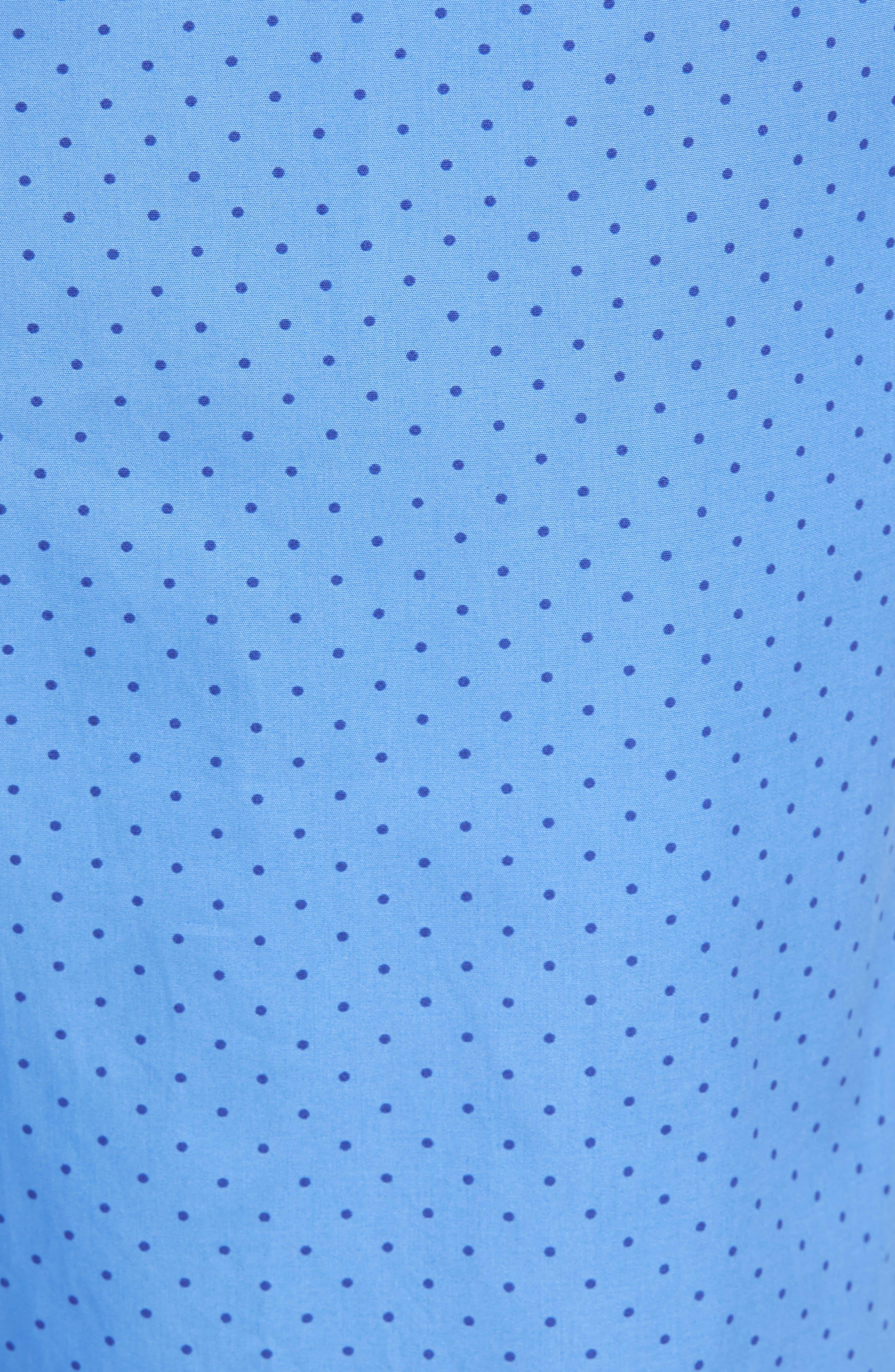 Dot Cotton Pajama Pants,                             Alternate thumbnail 5, color,                             451