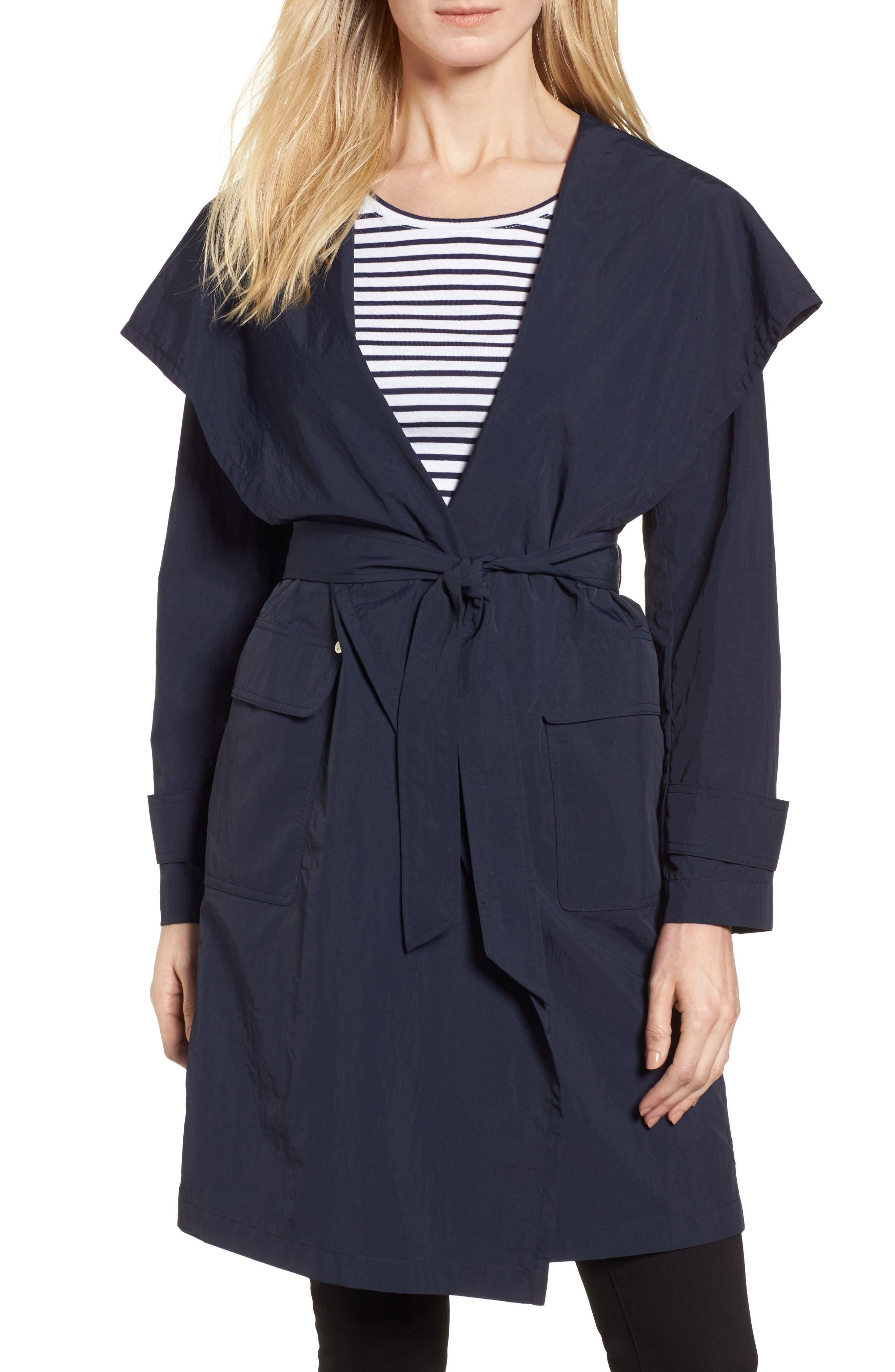Flo Packable Hooded Raincoat,                         Main,                         color, 250