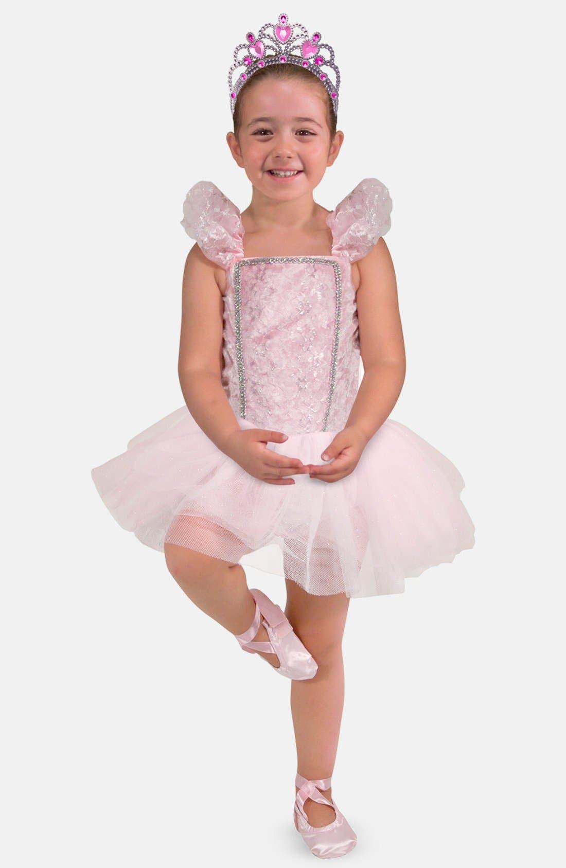 Girls Melissa  Doug Ballerina Role Play Set