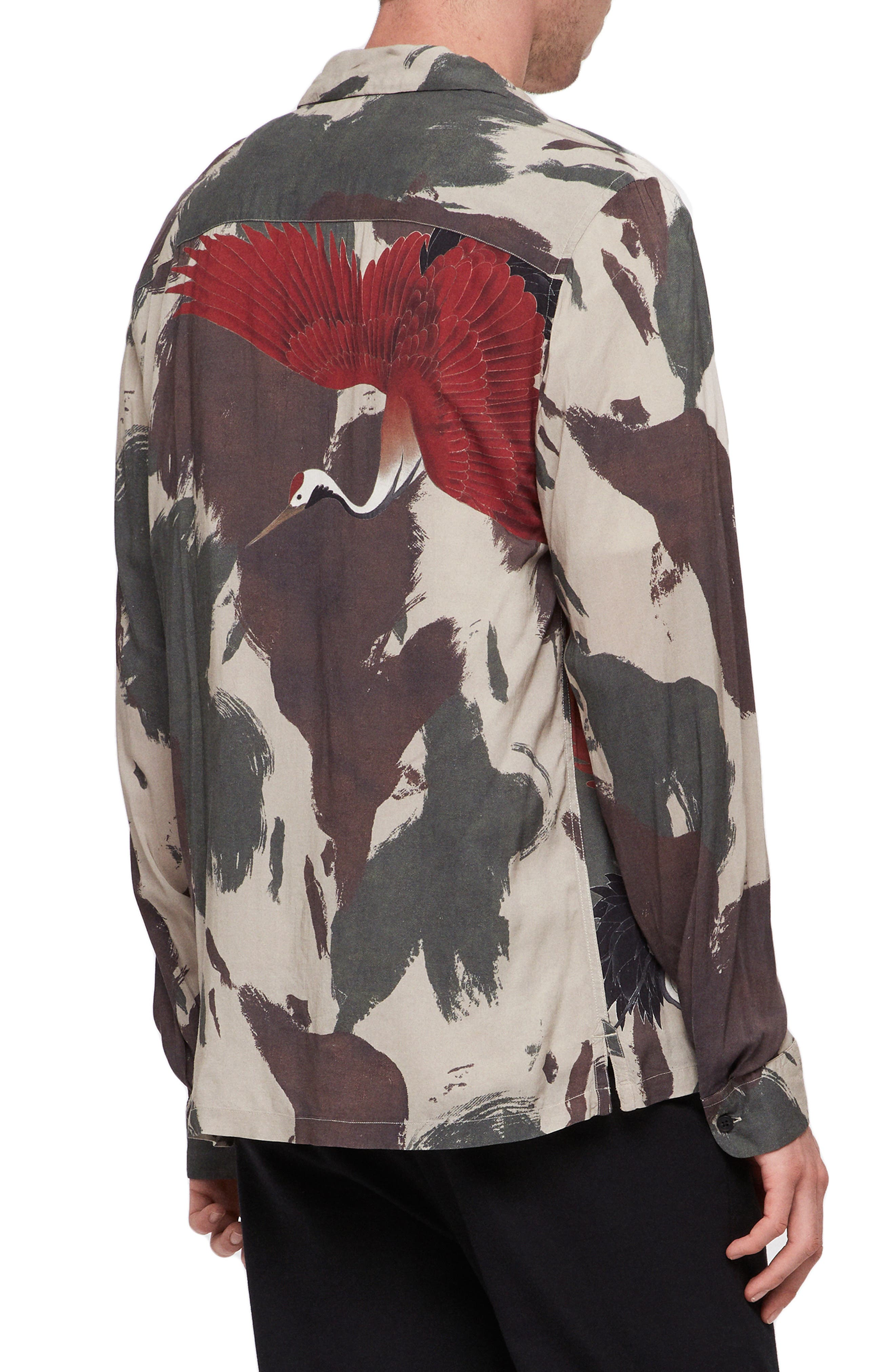 Lucerne Slim Fit Shirt,                             Alternate thumbnail 3, color,                             300