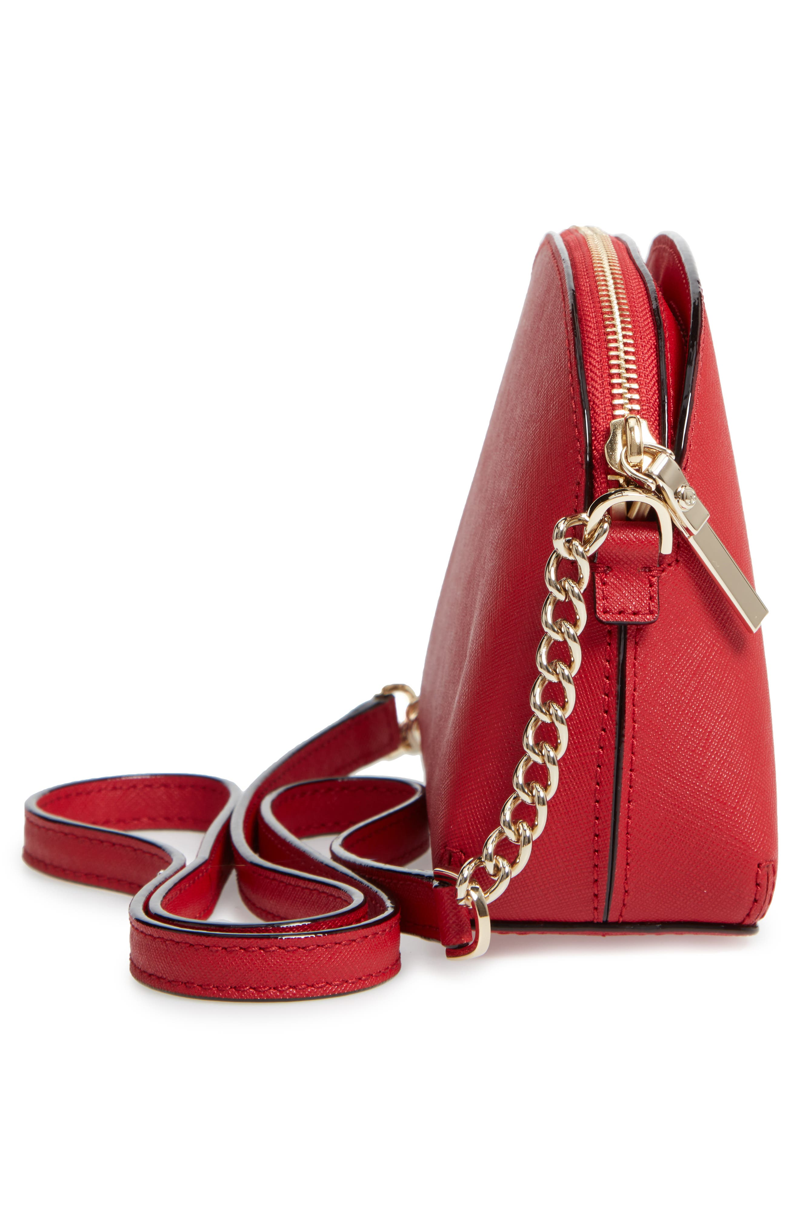 cameron street - hilli leather crossbody bag,                             Alternate thumbnail 5, color,                             600
