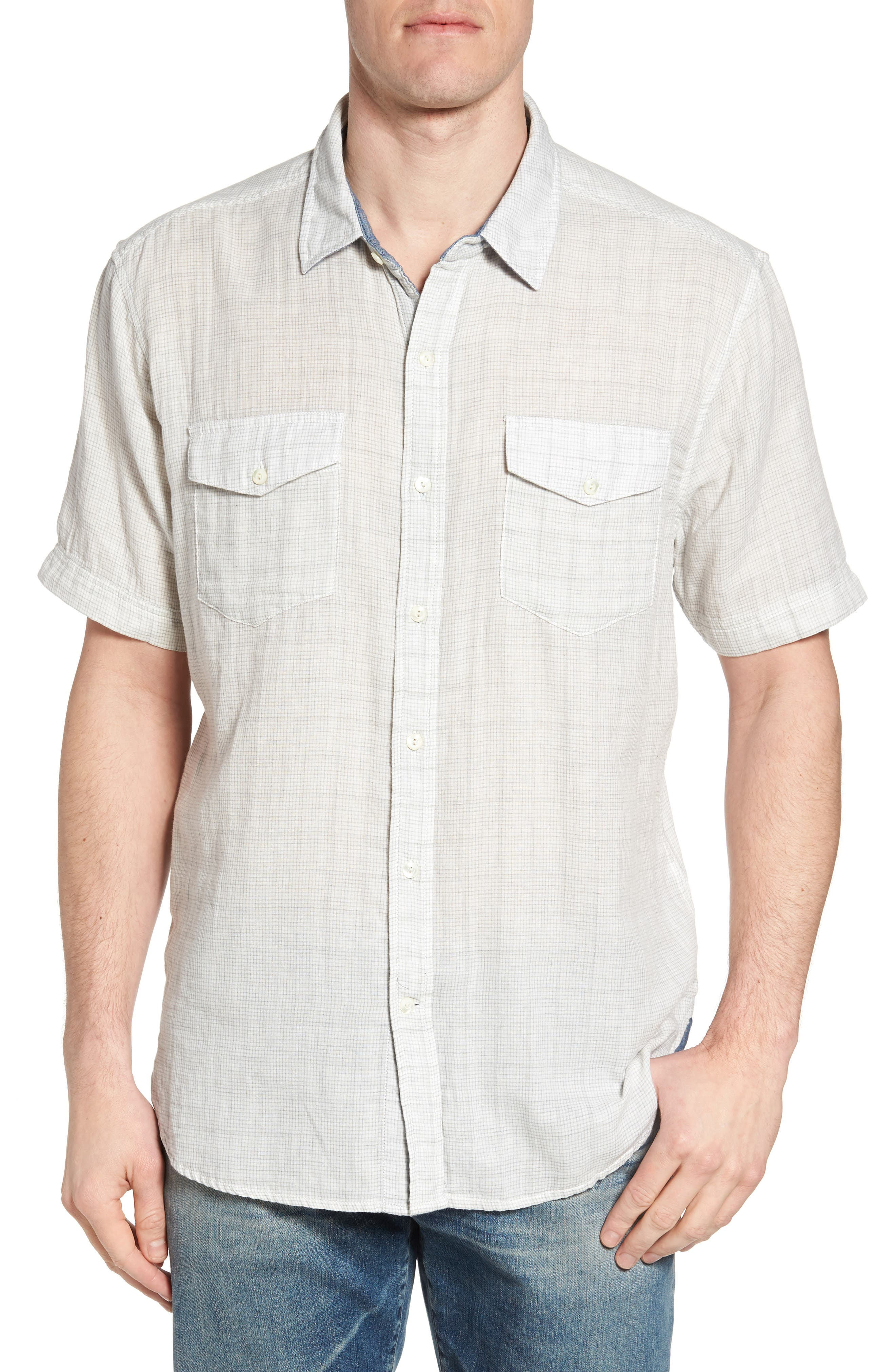 Crossroads Check Sport Shirt,                             Main thumbnail 1, color,                             020