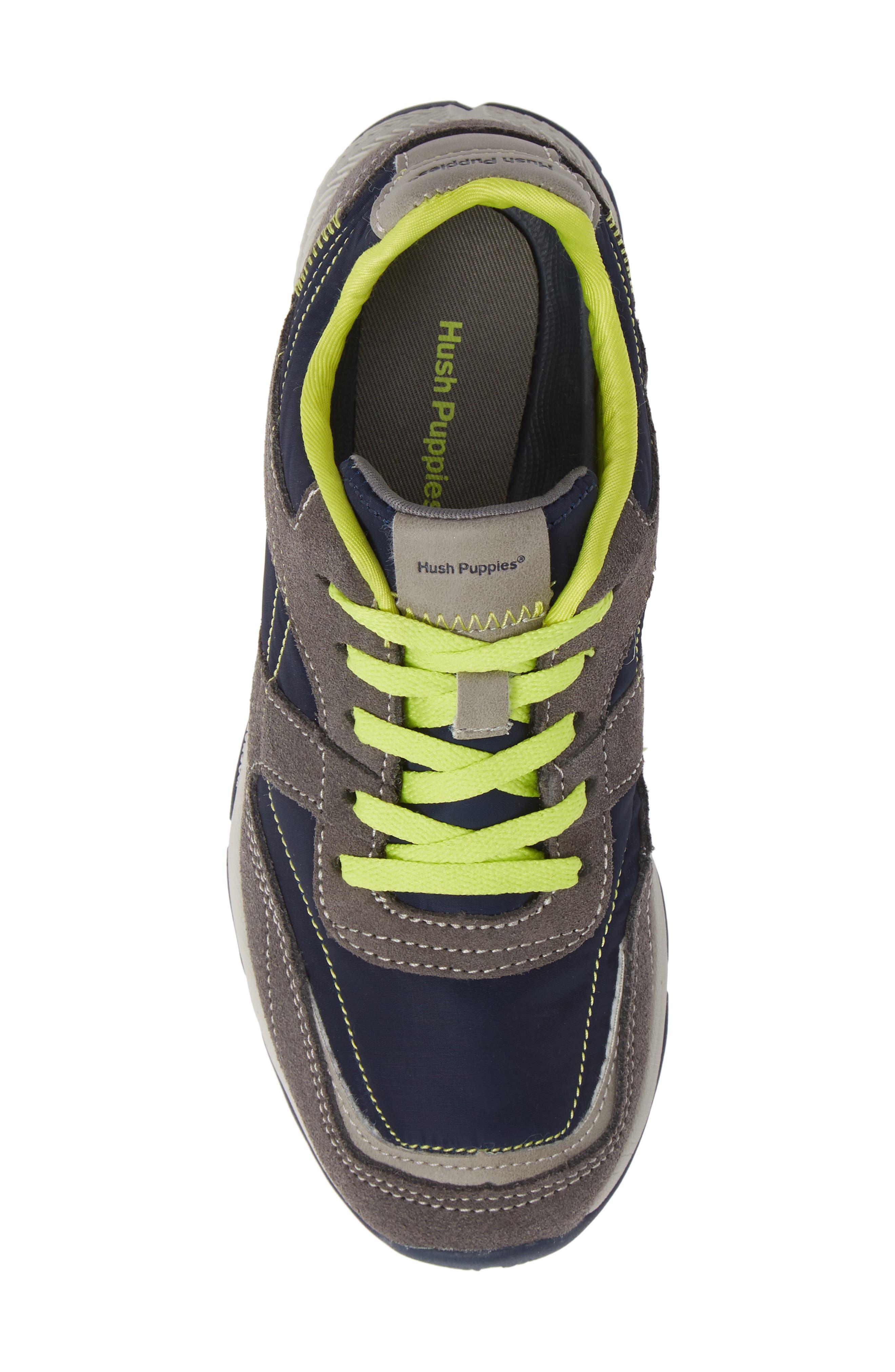 Zev TS Field Sneaker,                             Alternate thumbnail 5, color,                             GREY/ NAVY