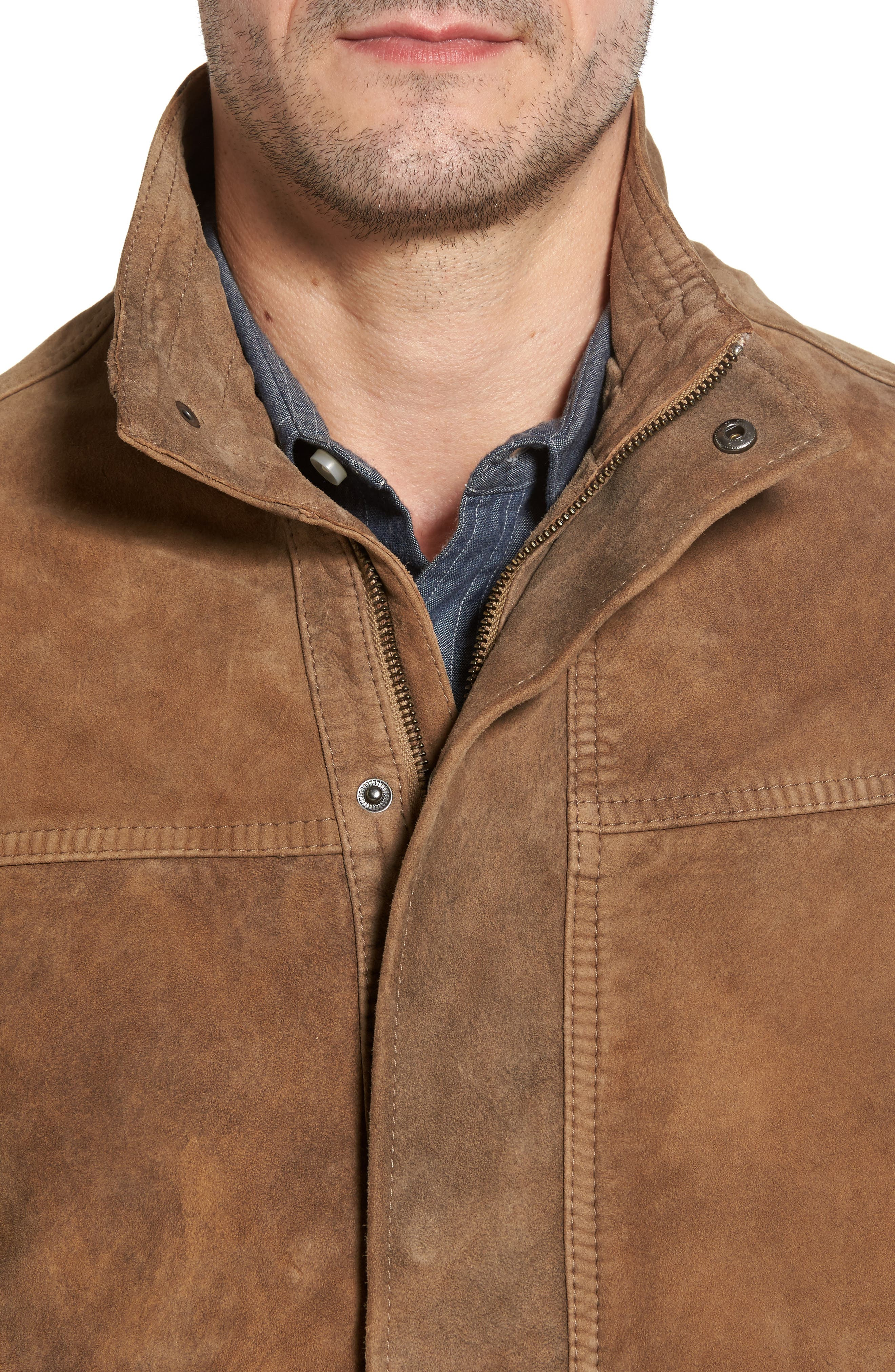 Lambskin Suede Jacket,                             Alternate thumbnail 4, color,                             210