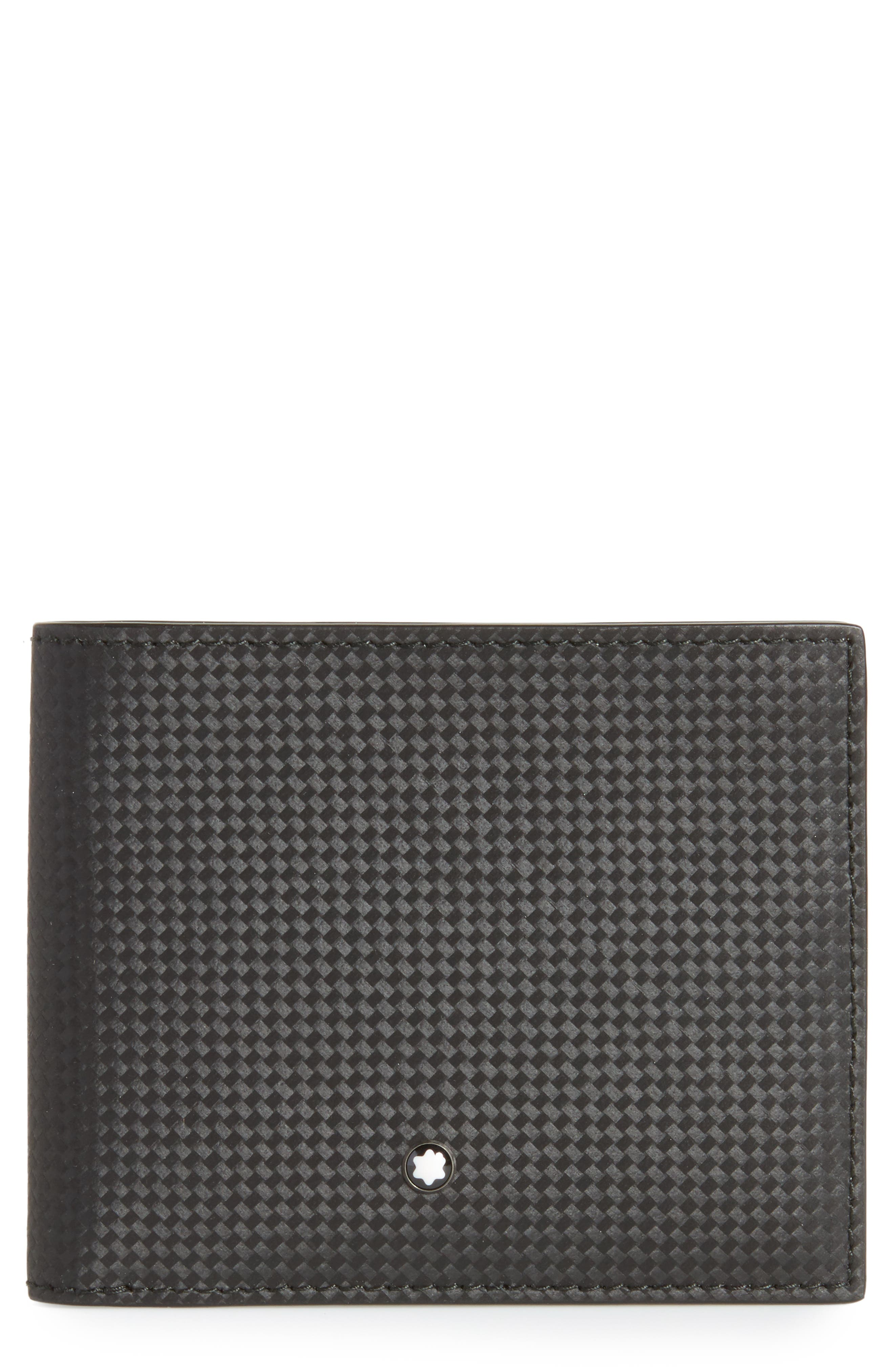 Extreme Leather Wallet,                             Main thumbnail 1, color,                             BLACK