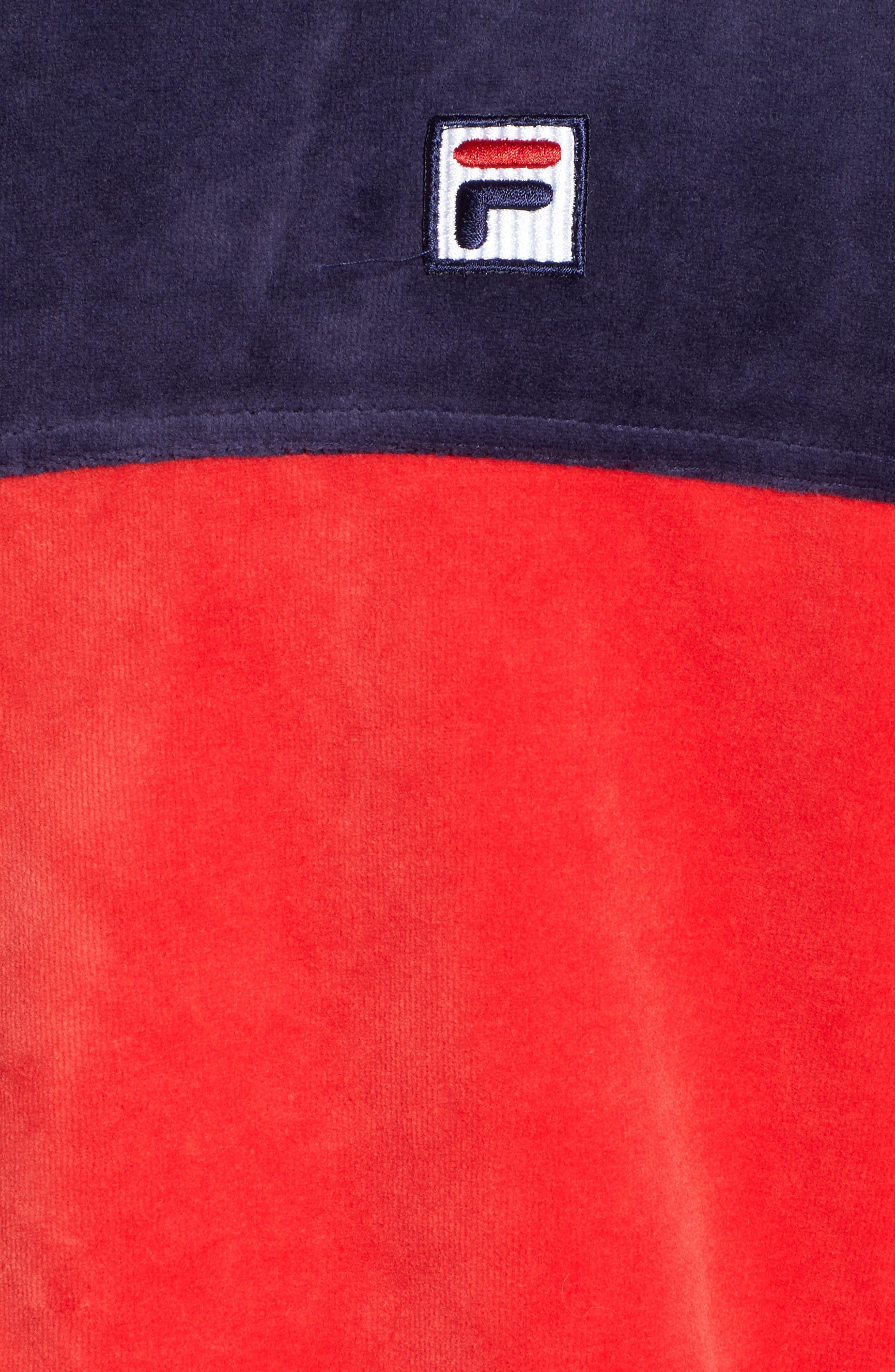 Marcus Velour Track Jacket,                             Alternate thumbnail 18, color,