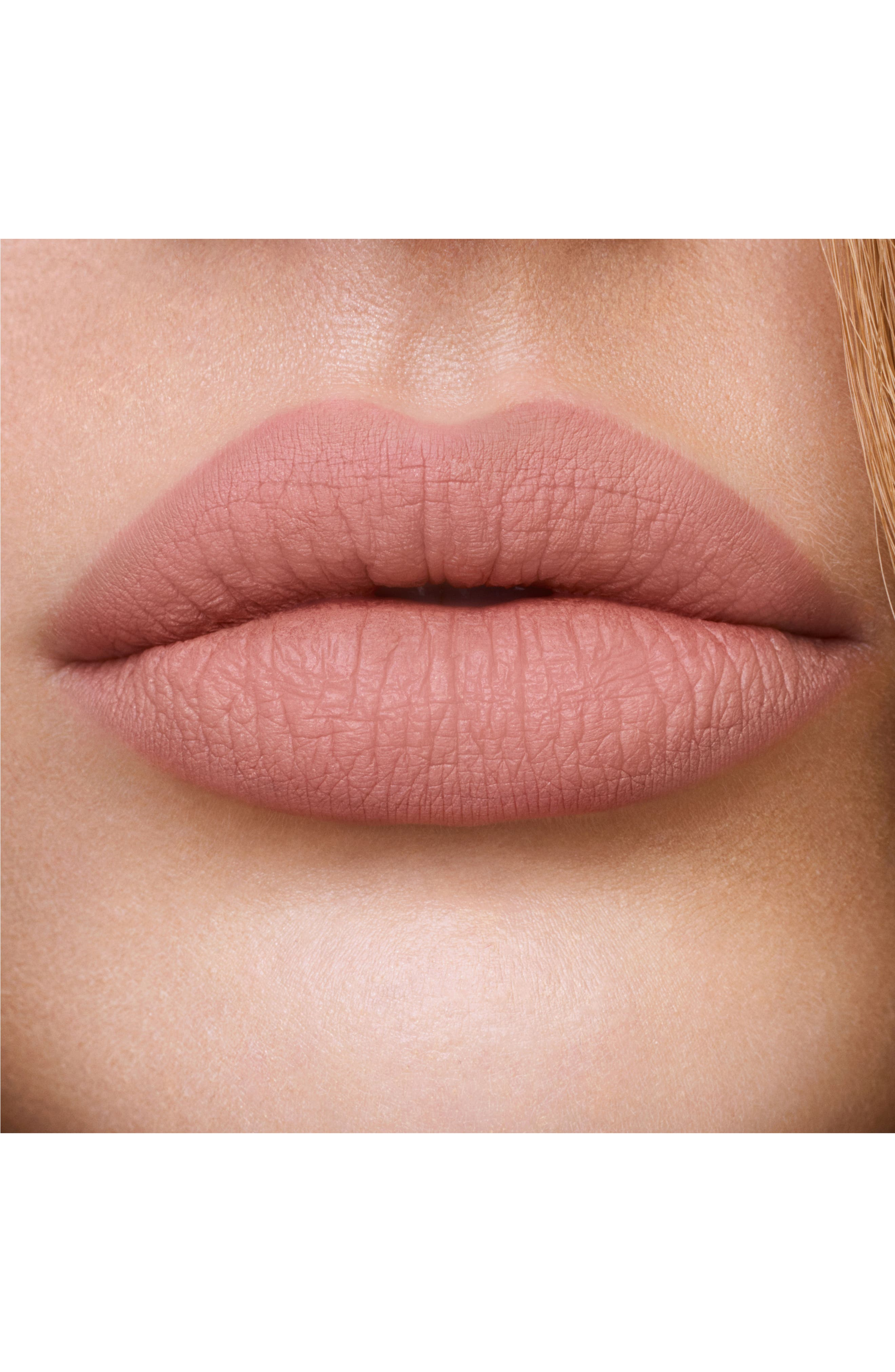 Hollywood Lips Liquid Lipstick,                             Alternate thumbnail 4, color,                             CHARLOTTE DARLING/ BEIGE NUDE