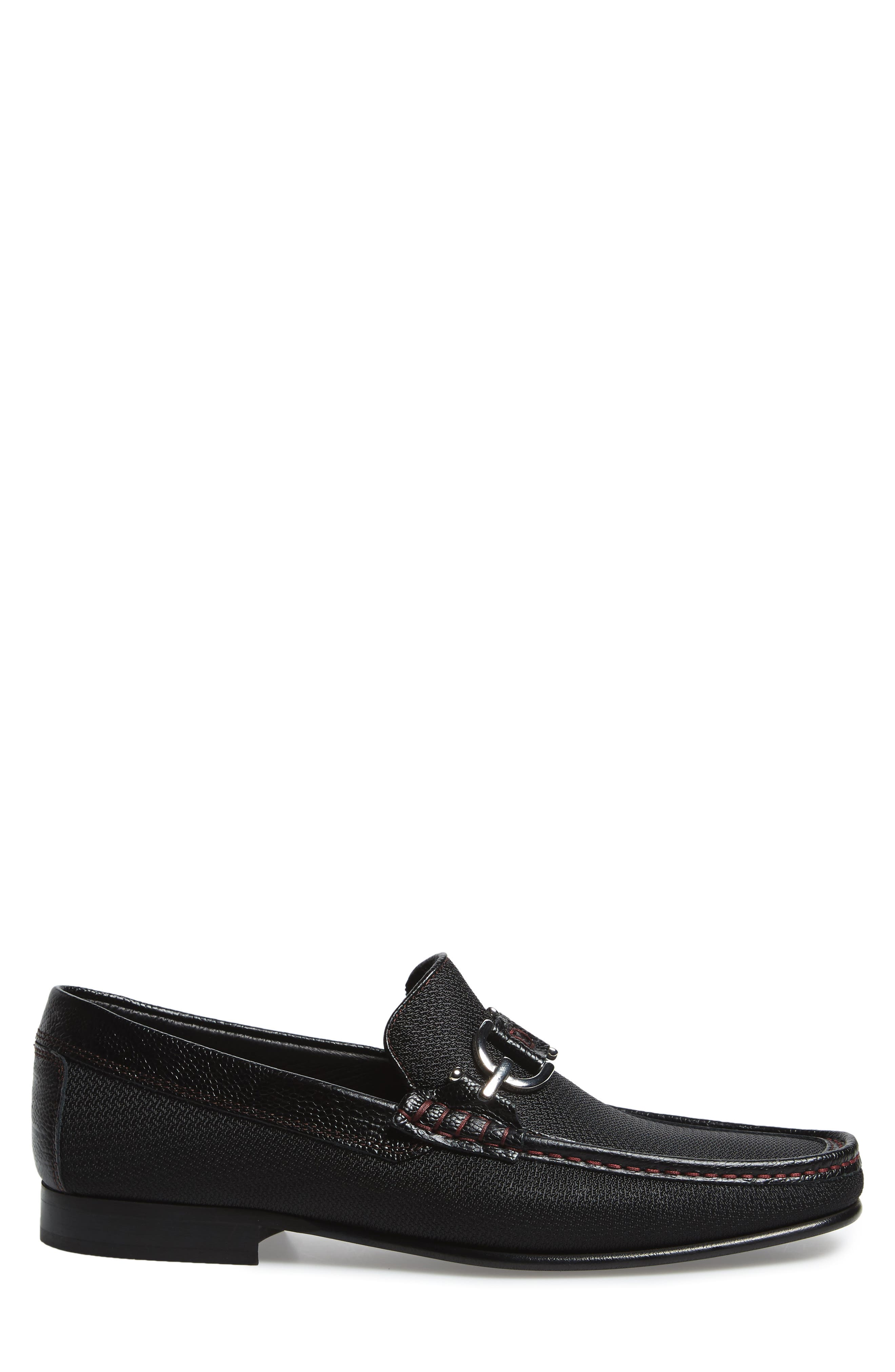 Dacio Moc Toe Loafer,                             Alternate thumbnail 3, color,                             001