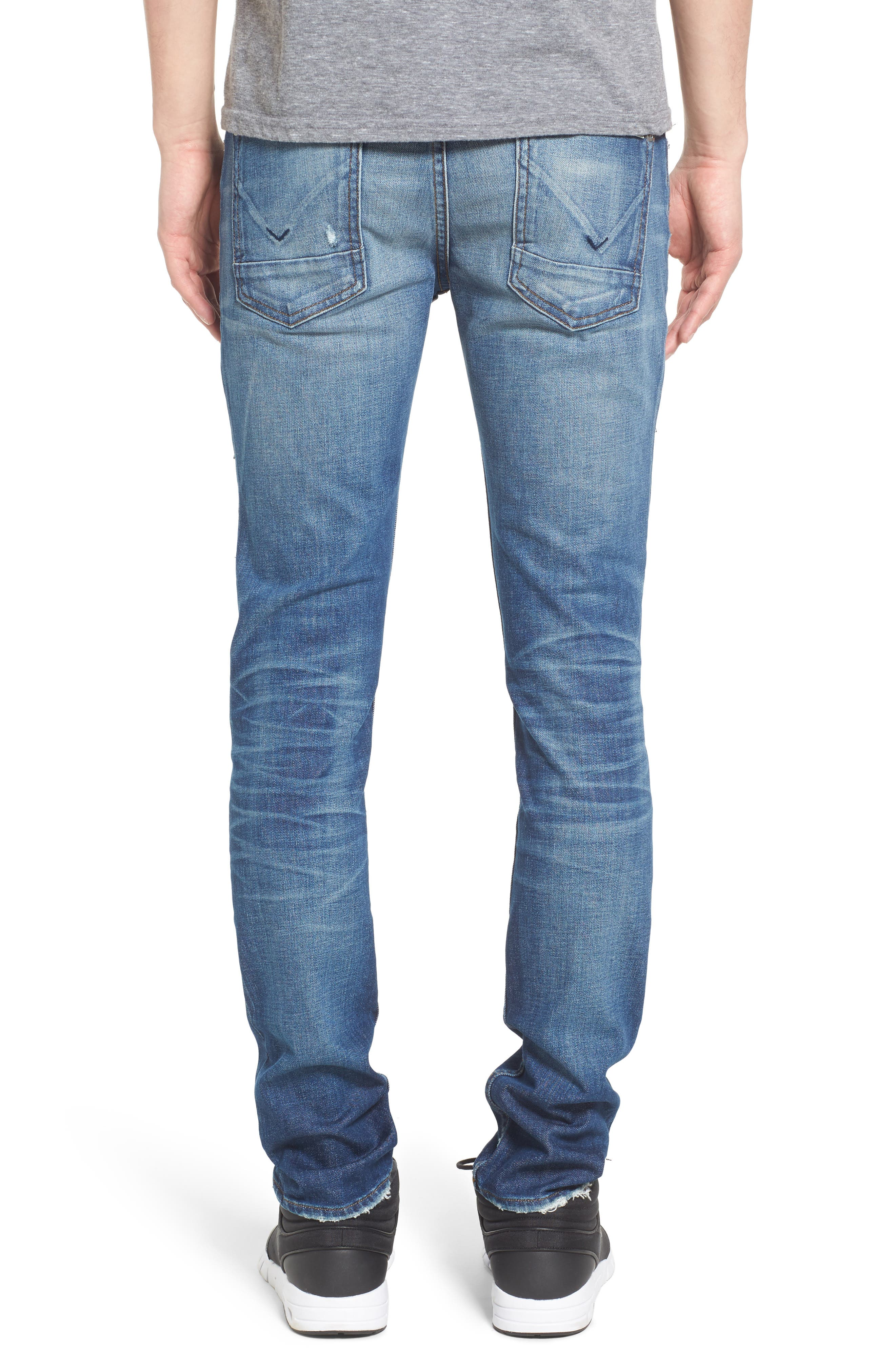 Axl Skinny Fit Jeans,                             Alternate thumbnail 2, color,                             422