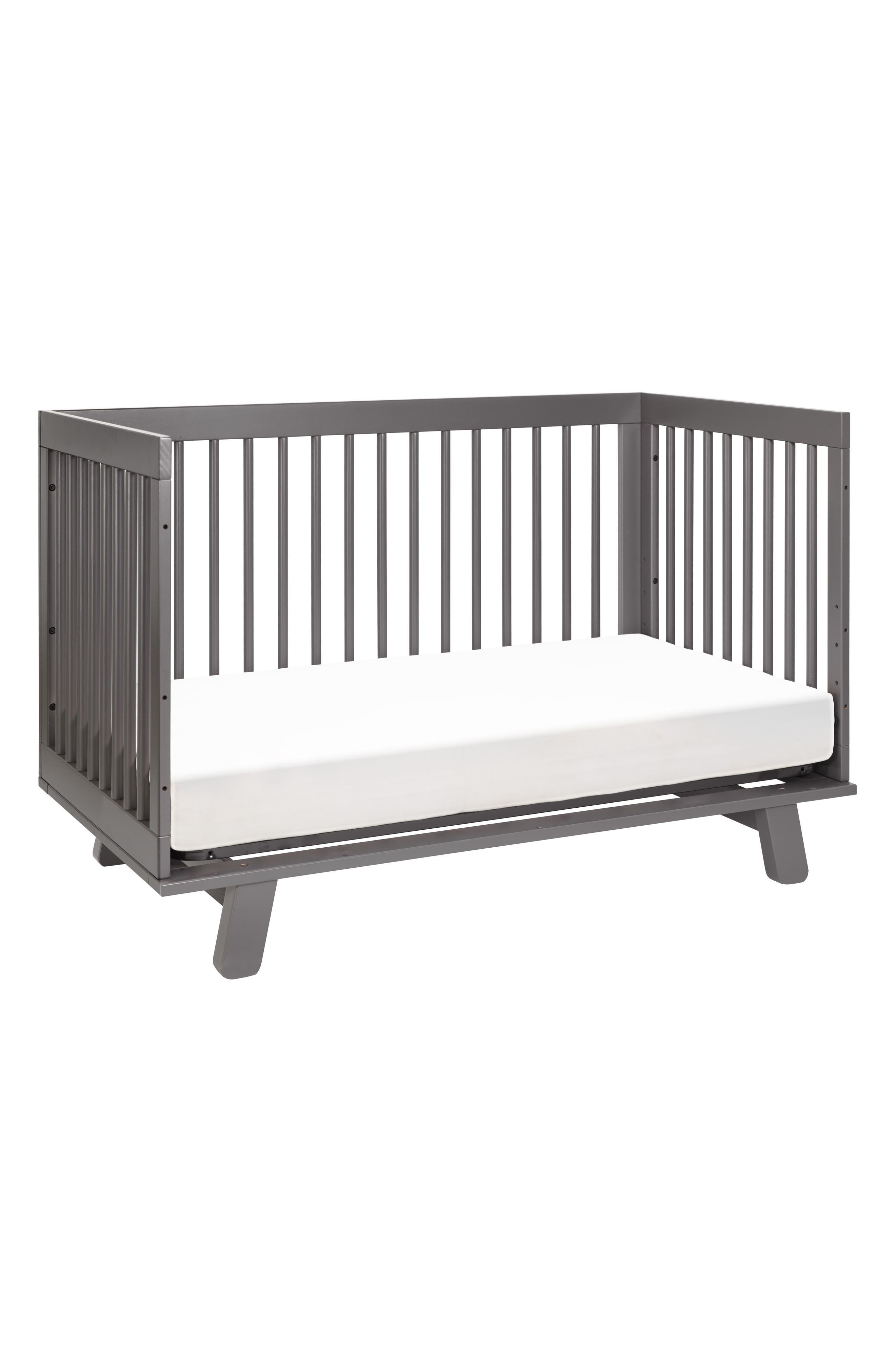 'Hudson' 3-in-1 Convertible Crib,                             Alternate thumbnail 4, color,                             021