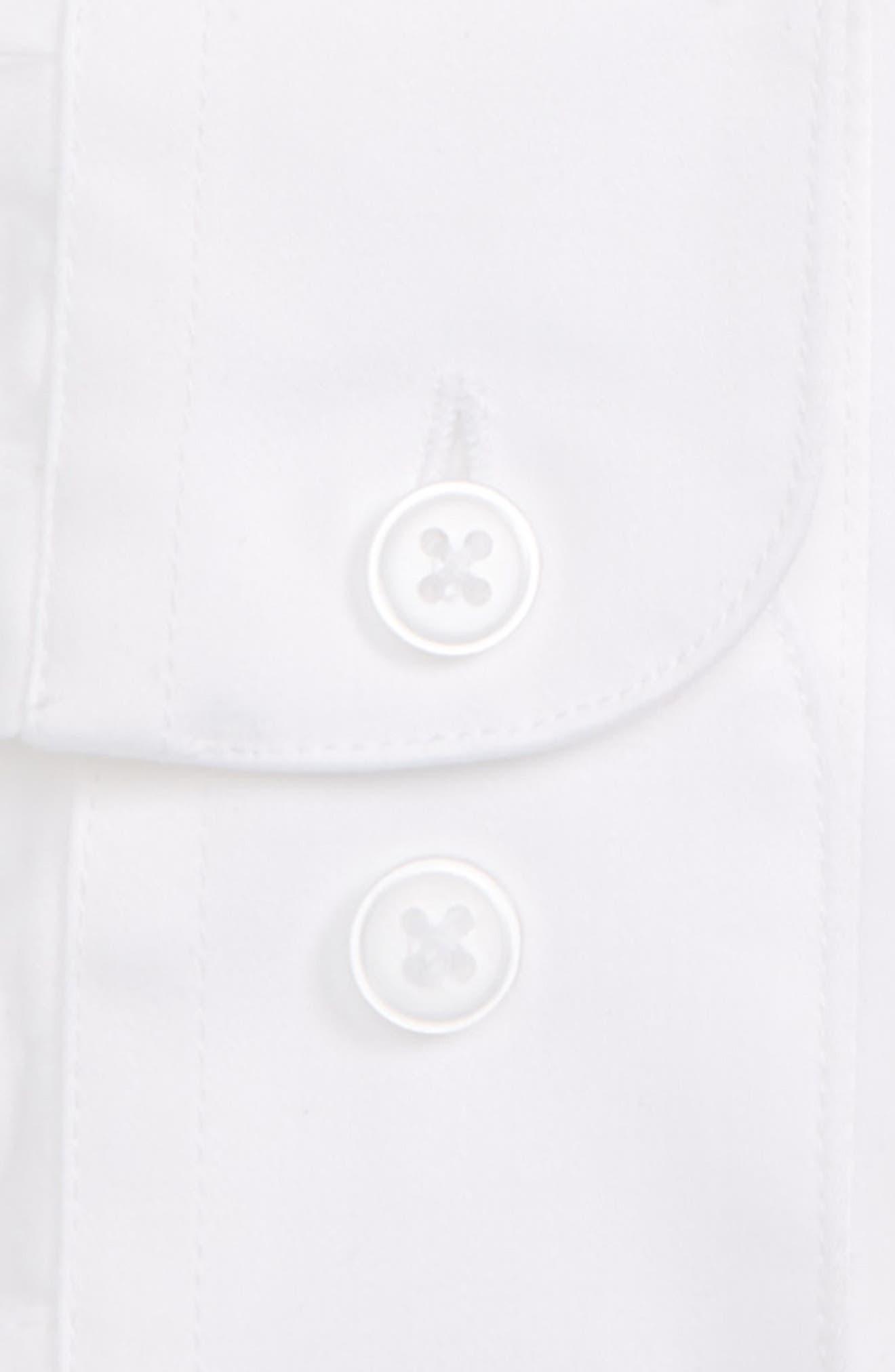 Dress Shirt,                             Alternate thumbnail 2, color,                             WHITE