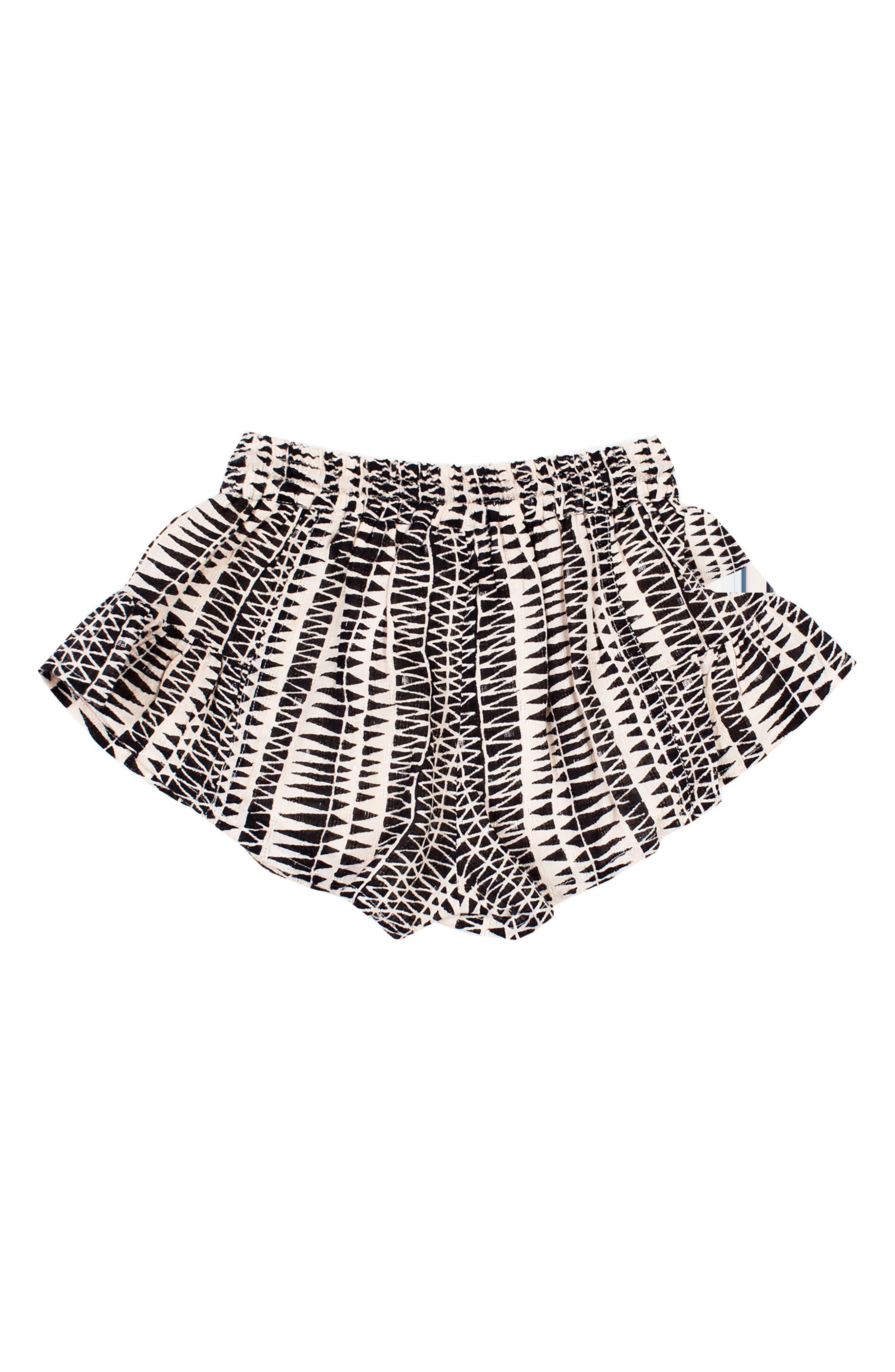 Little Dipper Print Shorts,                             Alternate thumbnail 2, color,                             BLACK