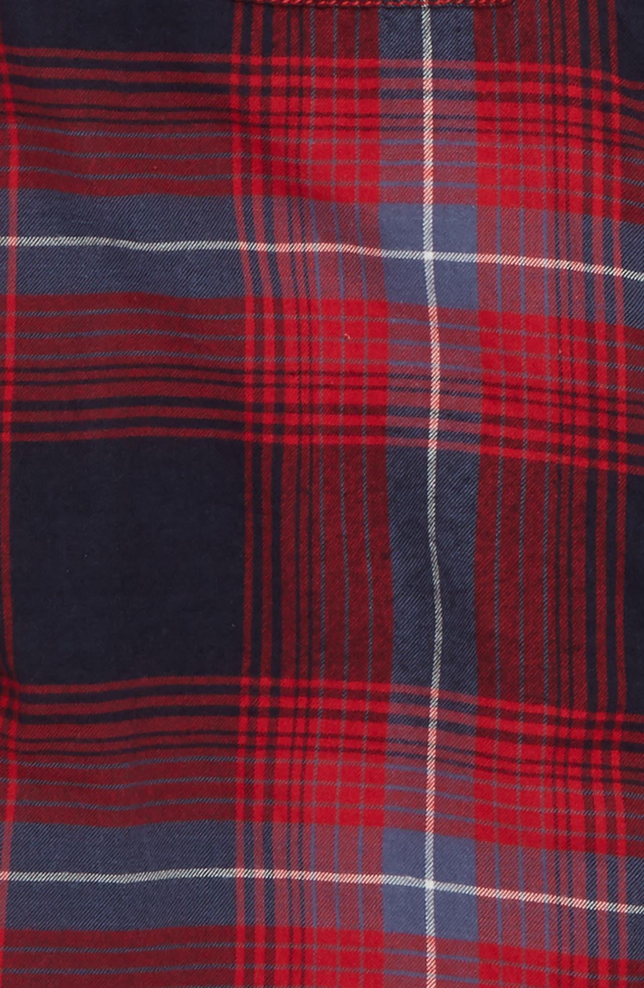 Ultrasoft Flannel Shirt,                             Alternate thumbnail 7, color,