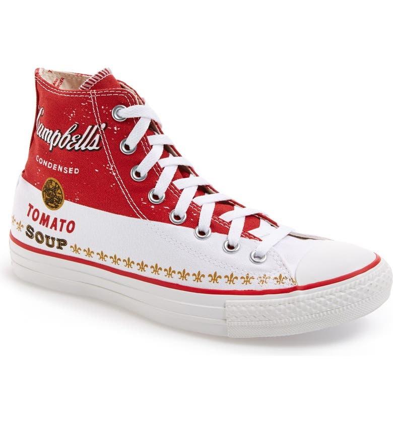 183ff4a4660 Converse Chuck Taylor® All Star® Andy Warhol Collection High Top ...