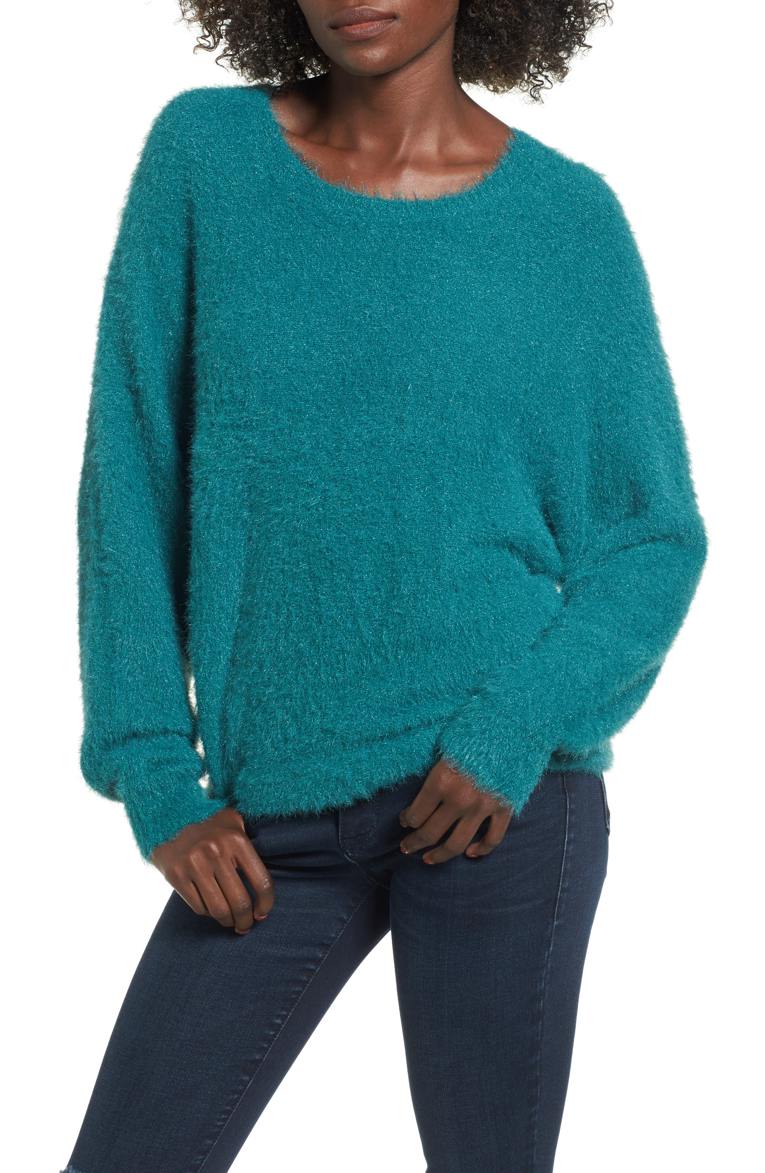 Fluffy Pullover,                         Main,                         color, 301