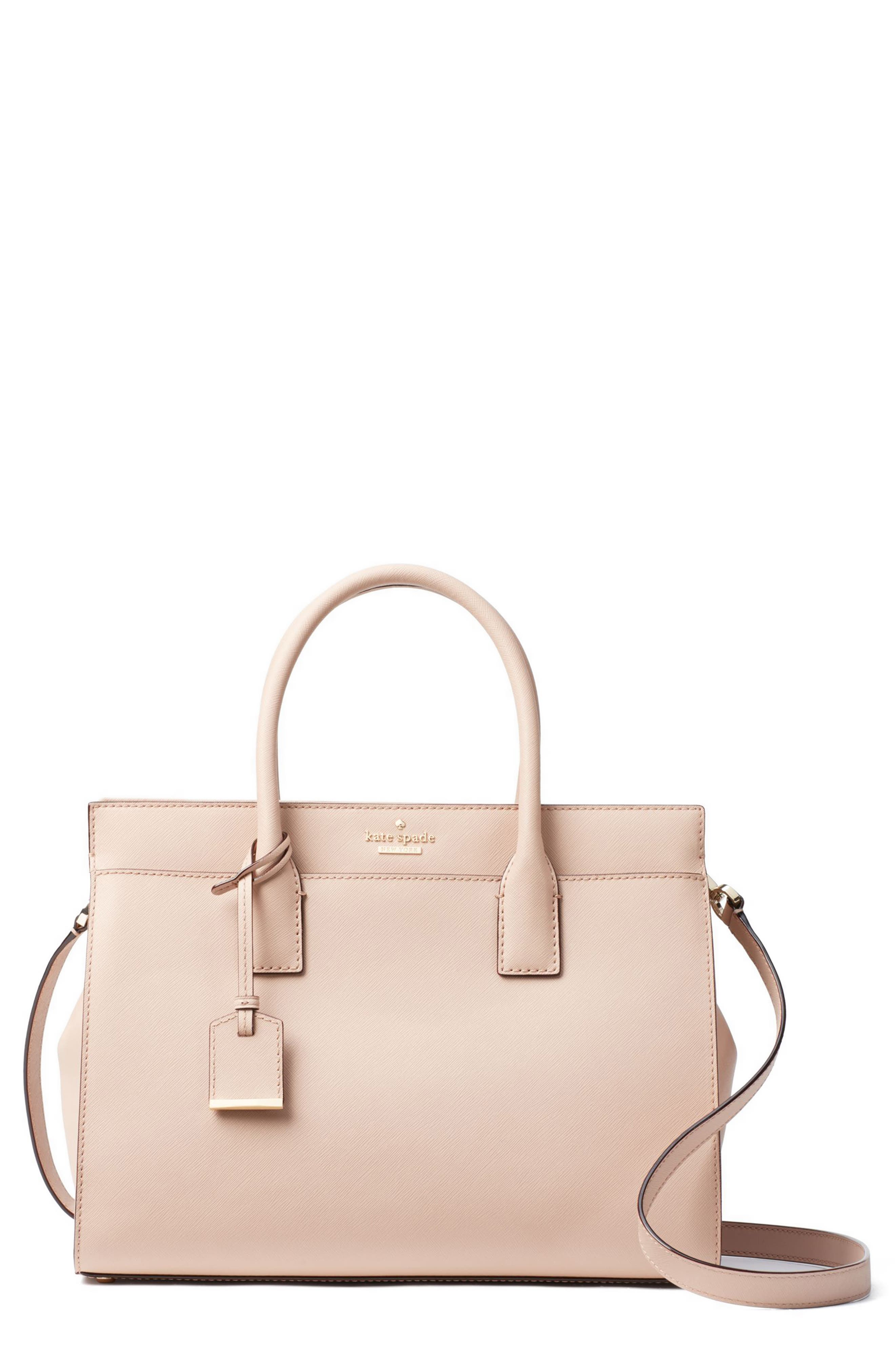 cameron street - candace leather satchel,                             Main thumbnail 13, color,