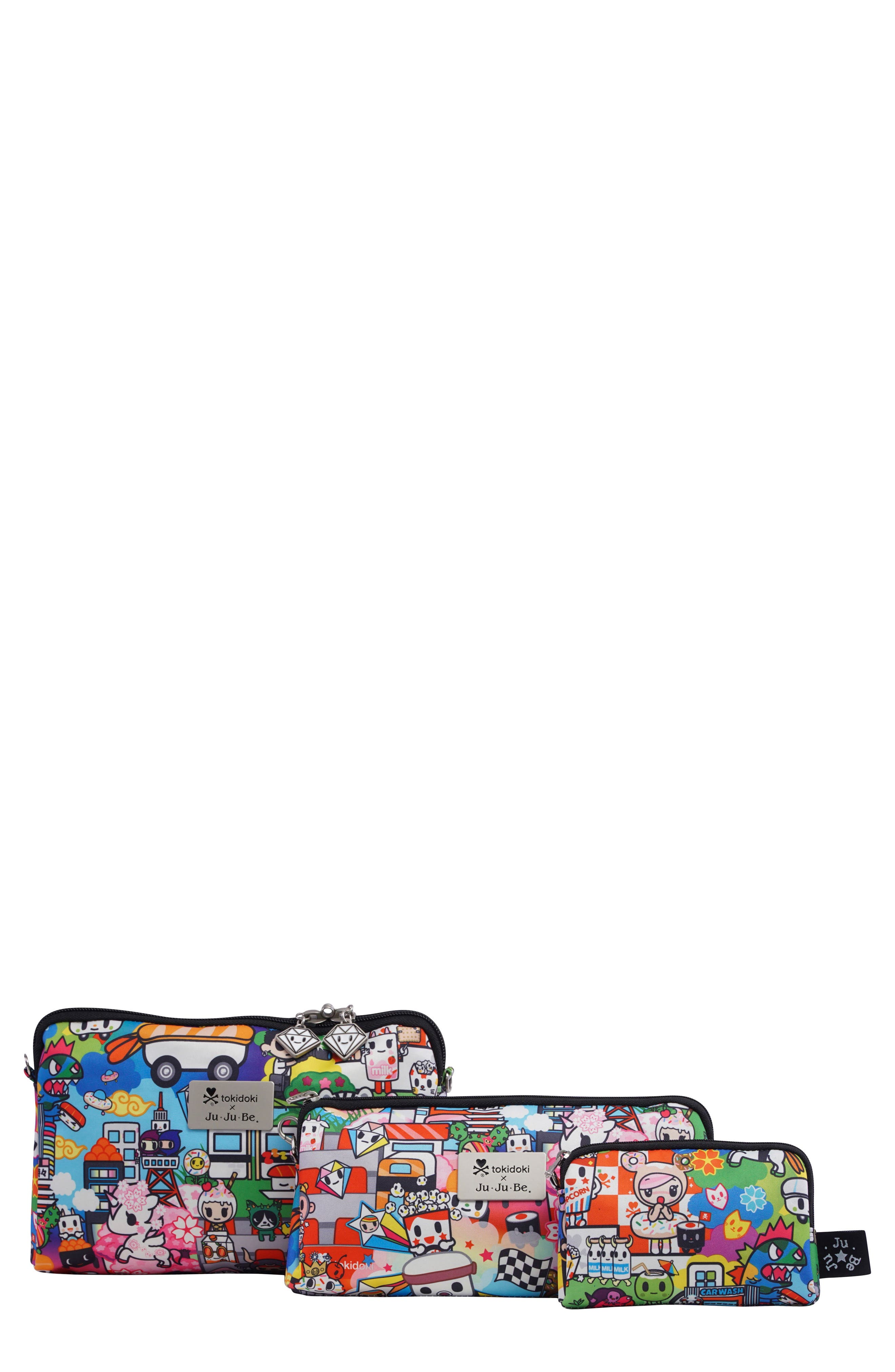 'Be Set' Top Zip Cases,                             Main thumbnail 1, color,                             SUSHI CARS