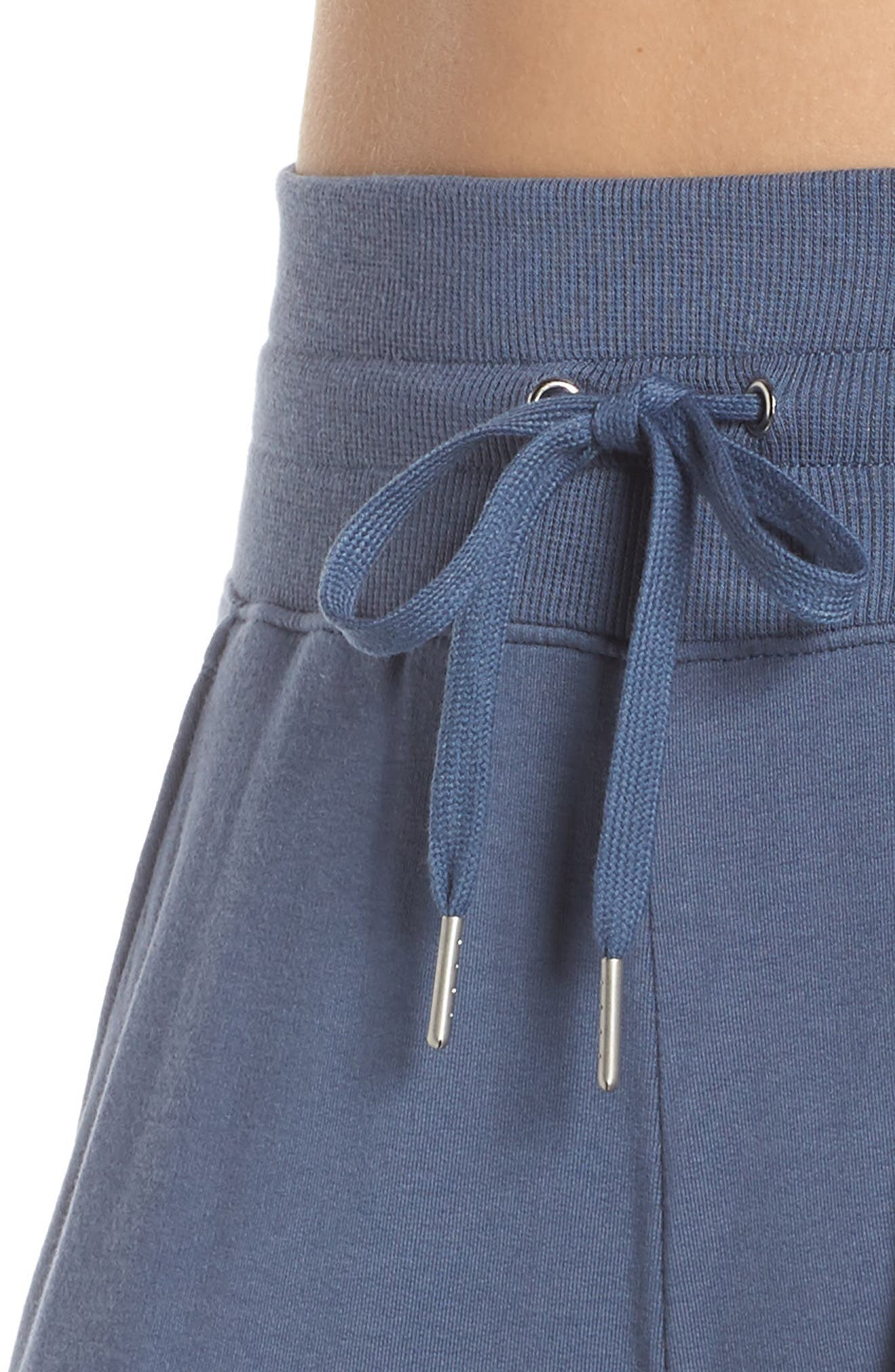 ZELLA, Repeat High Waist Crop Jogger Pants, Alternate thumbnail 5, color, BLUE VINTAGE