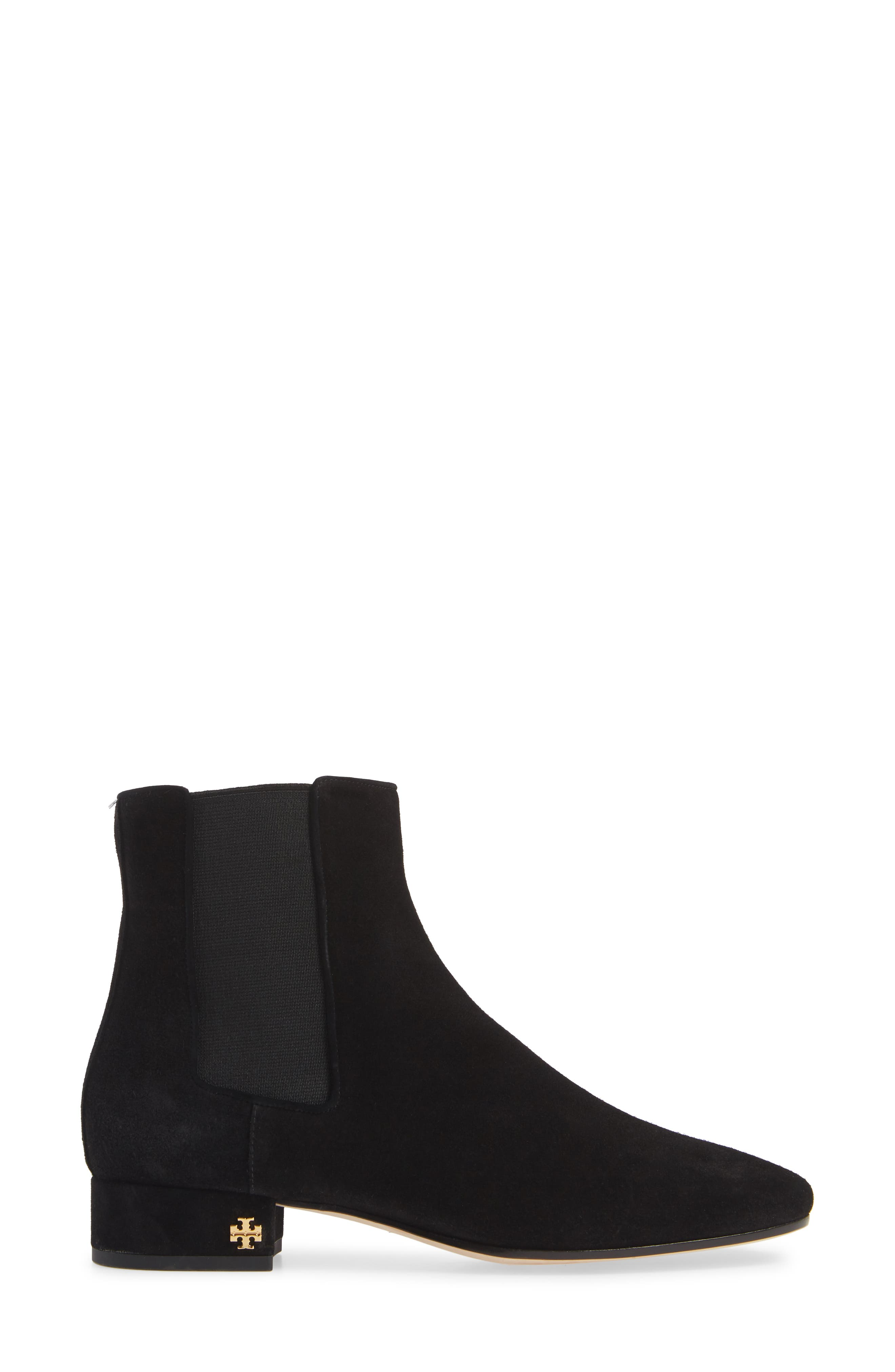 Pascal Chelsea Boot,                             Alternate thumbnail 3, color,                             PERFECT BLACK